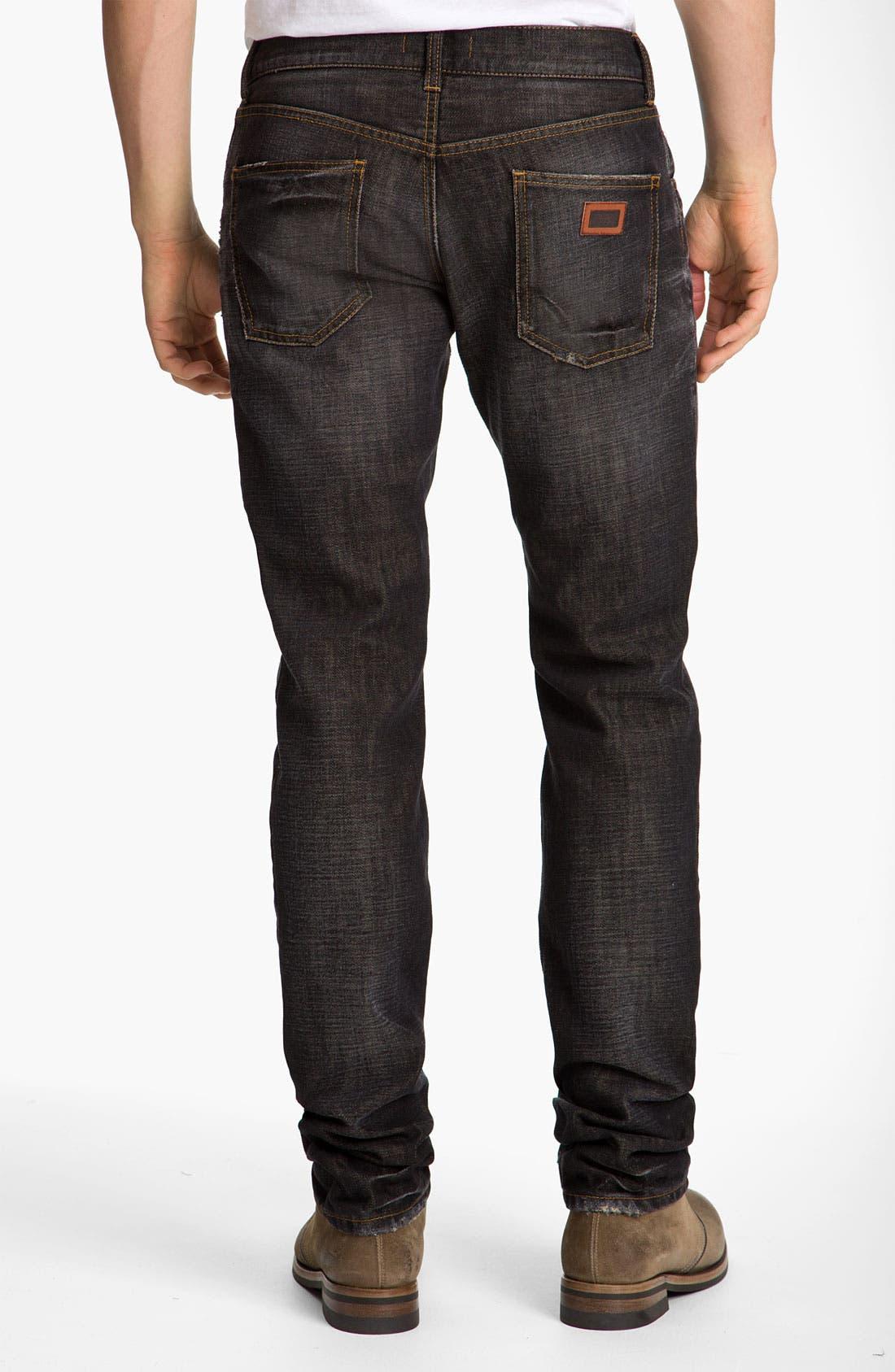 Alternate Image 1 Selected - Dolce&Gabbana Slim Straight Leg Jeans