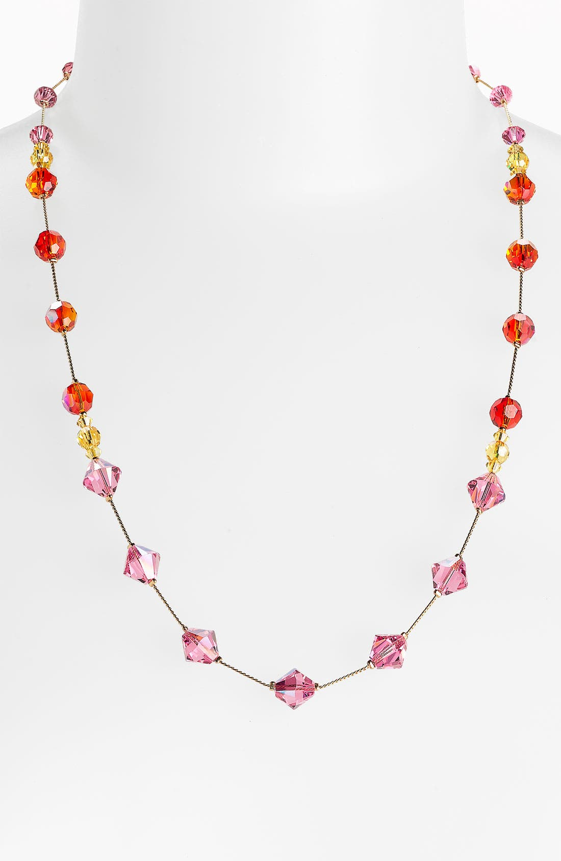 Main Image - Dabby Reid 'Paige' Crystal Necklace