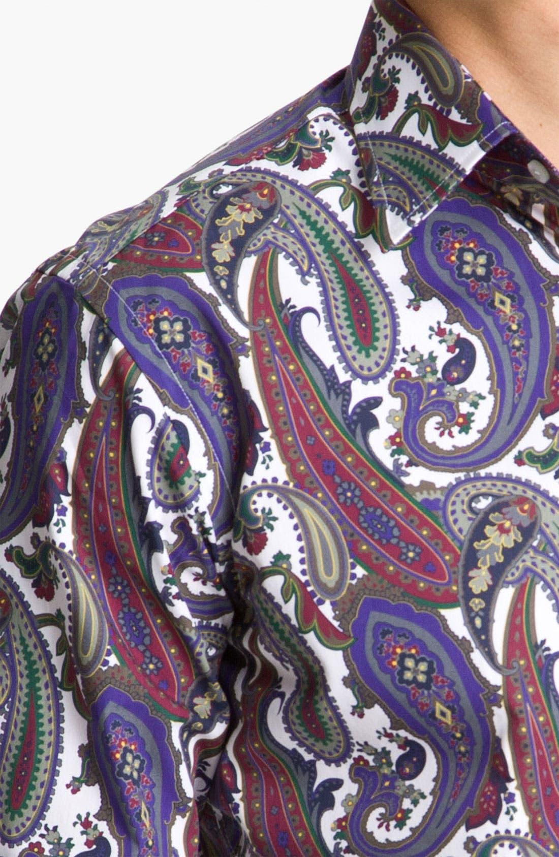 Alternate Image 4  - Etro Paisley Shirt