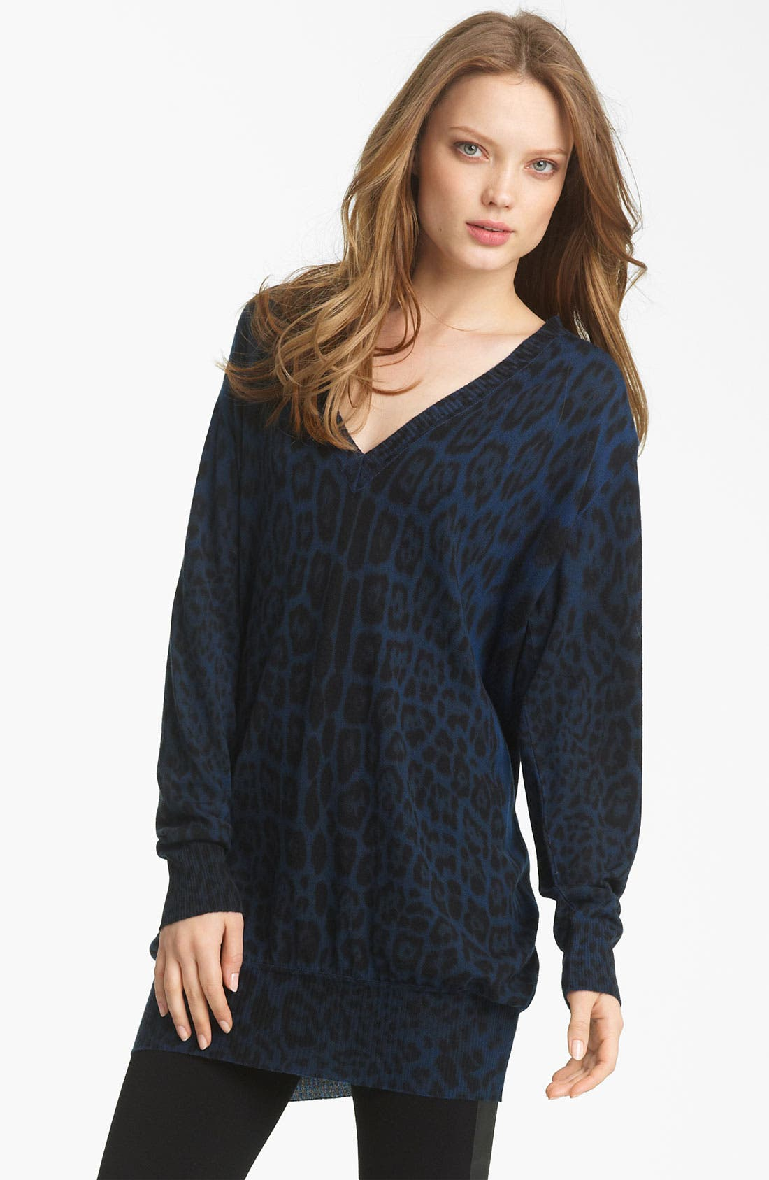 Main Image - Roberto Cavalli Oversized Knit Sweater