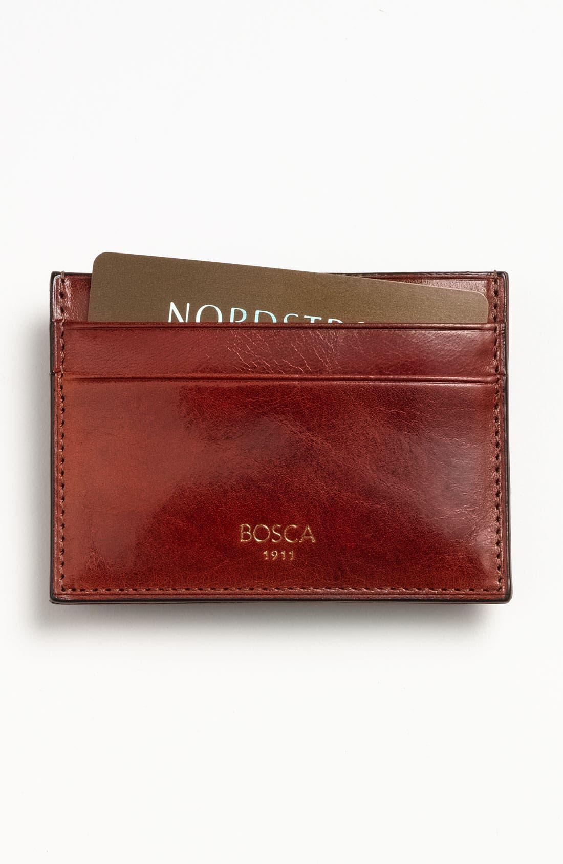 Main Image - Bosca 'Old Leather' Front Pocket Wallet