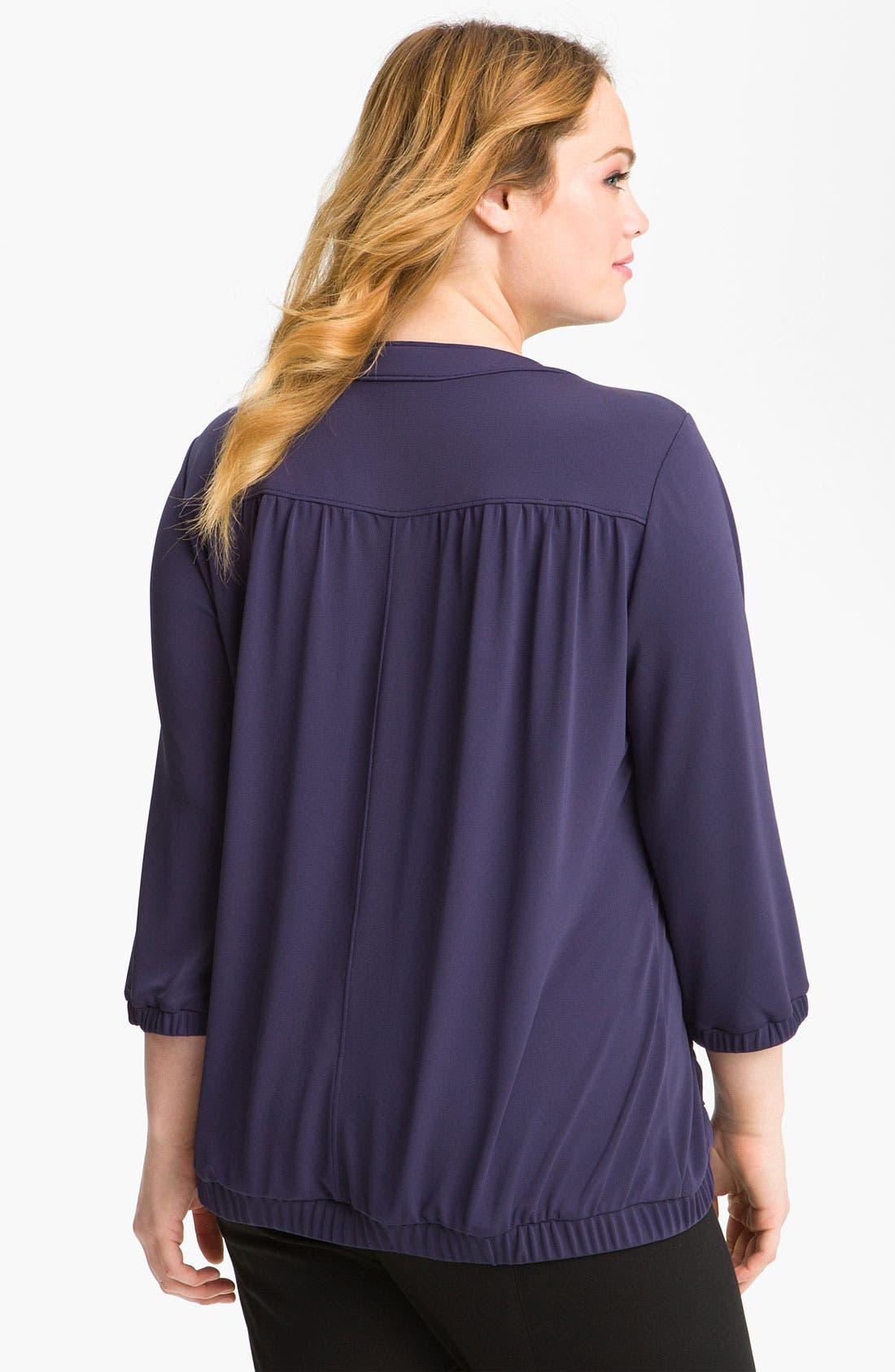 Alternate Image 2  - Sejour Weekend Knit Jacket (Plus)