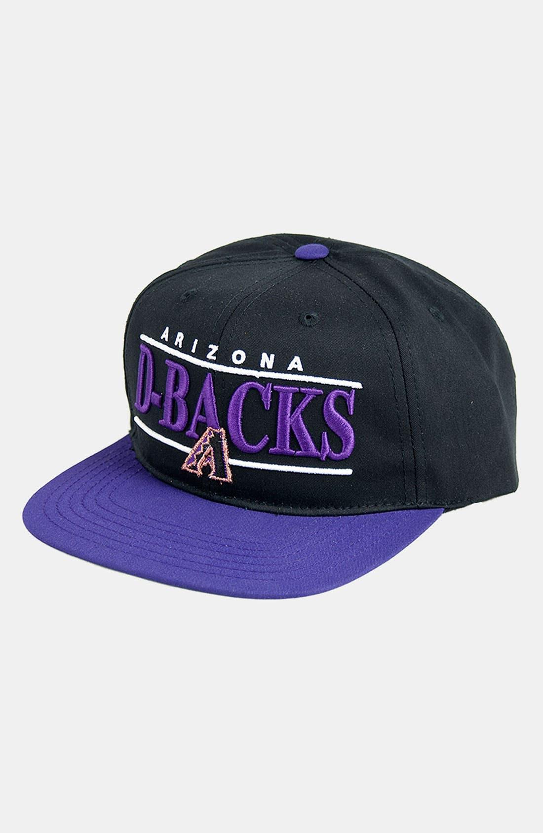 Main Image - American Needle 'Arizona Diamondbacks - Nineties' Twill Snapback Baseball Cap