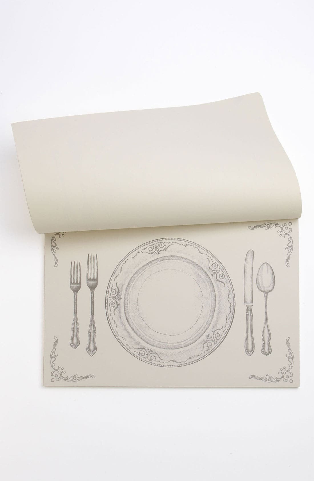 Alternate Image 2  - Kitchen Papers by Cake 'Perfect Setting' Paper Placemat Pad