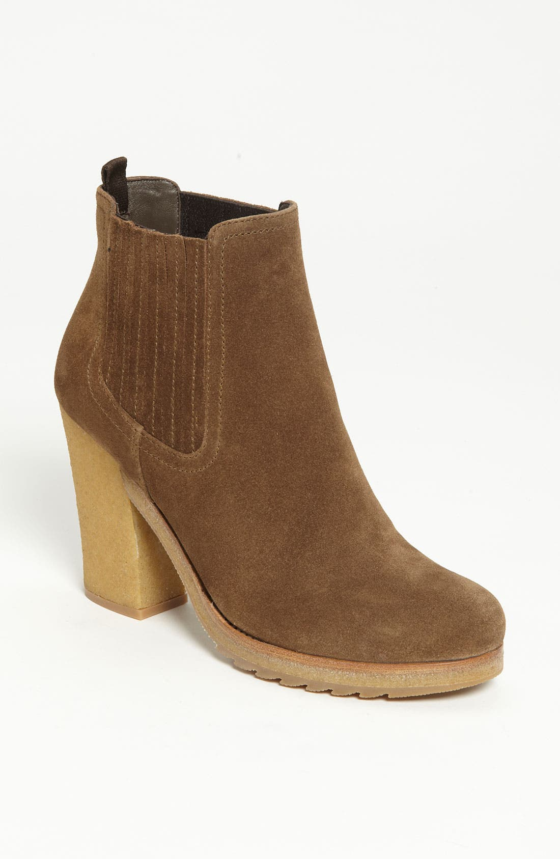 Alternate Image 1 Selected - Prada Double Gored Suede Boot