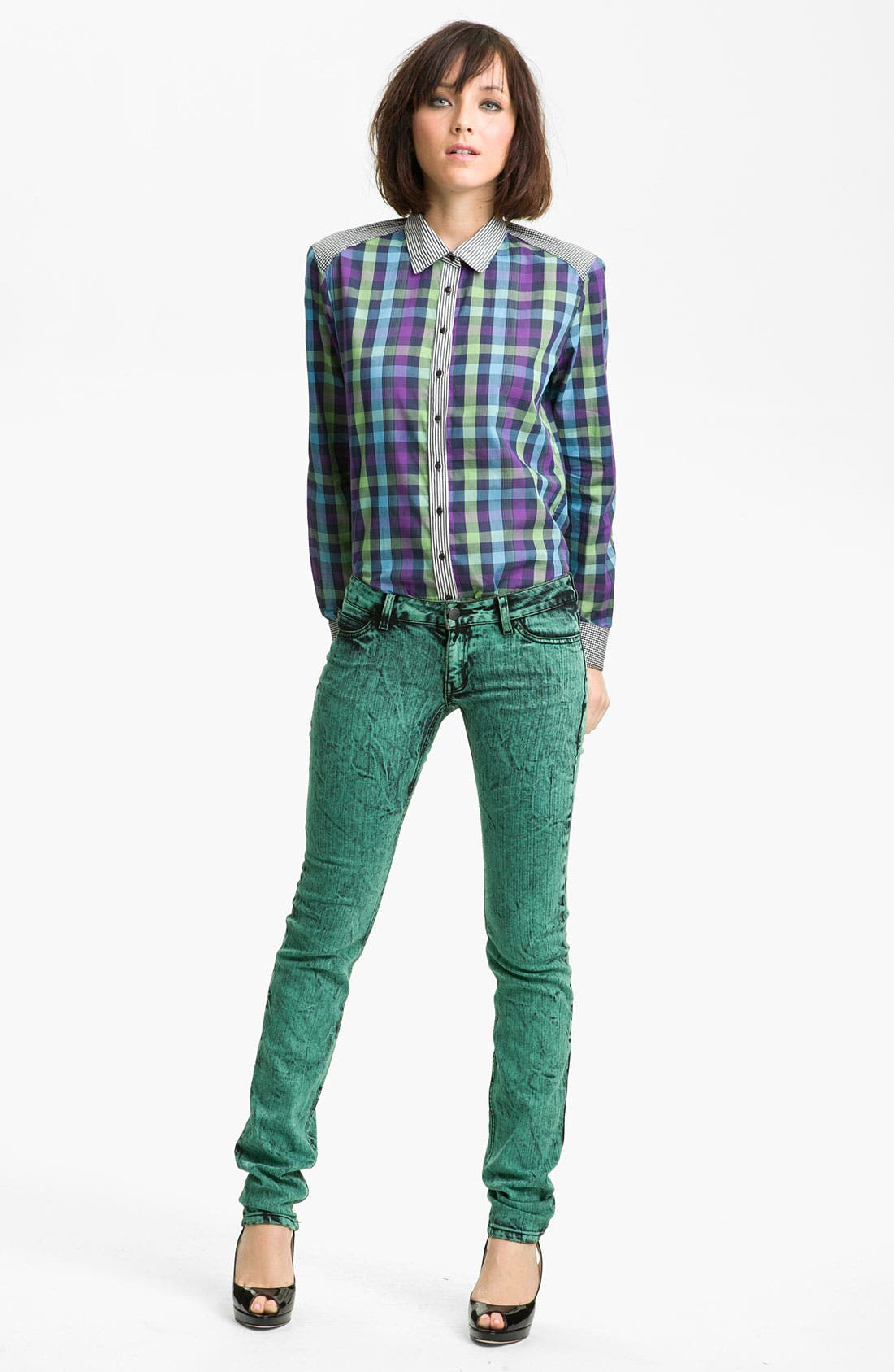 Alternate Image 1 Selected - Kelly Wearstler 'Tito' Flannel Shirt