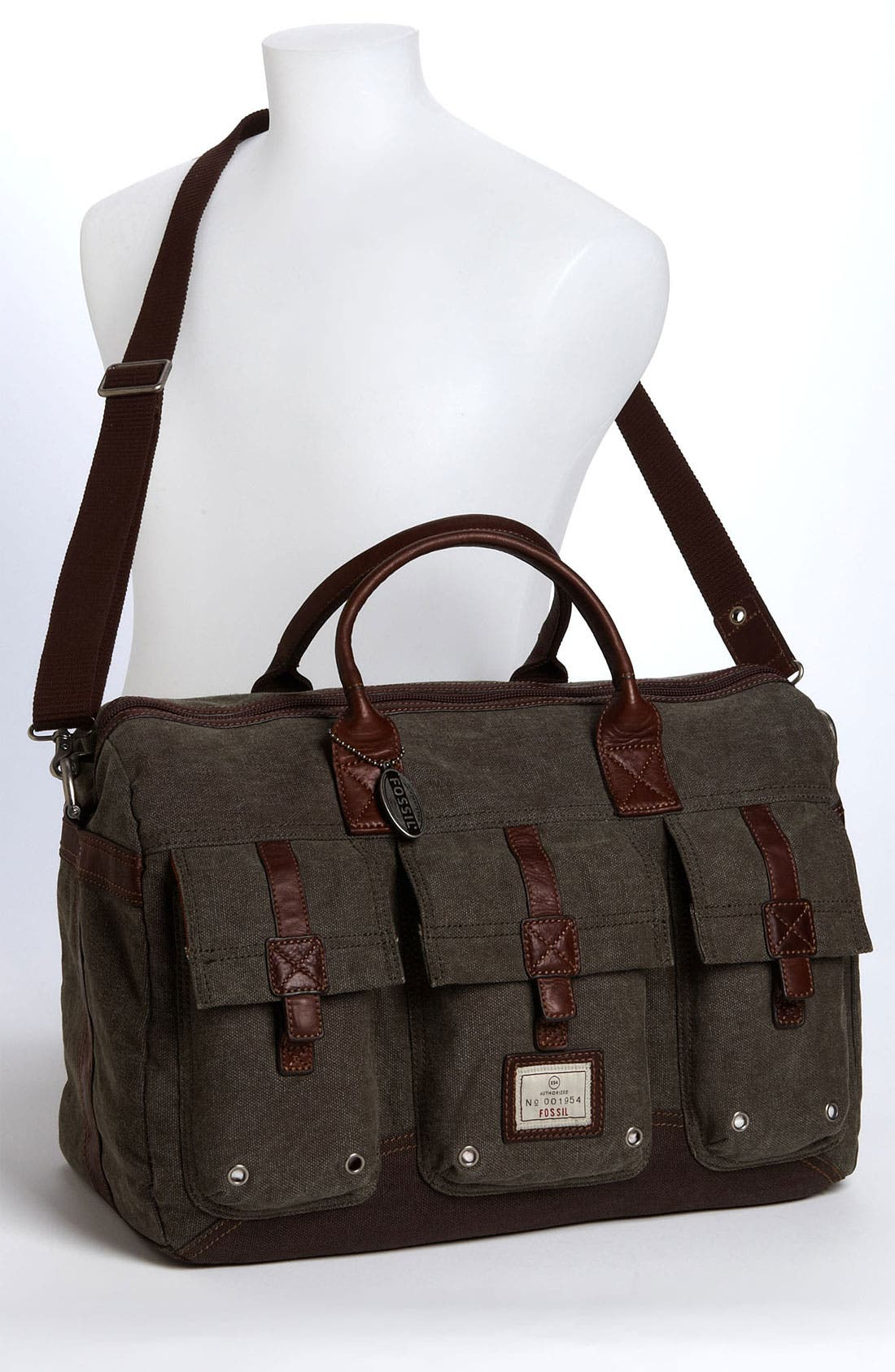 Alternate Image 4  - Fossil 'Trail' Duffel Bag