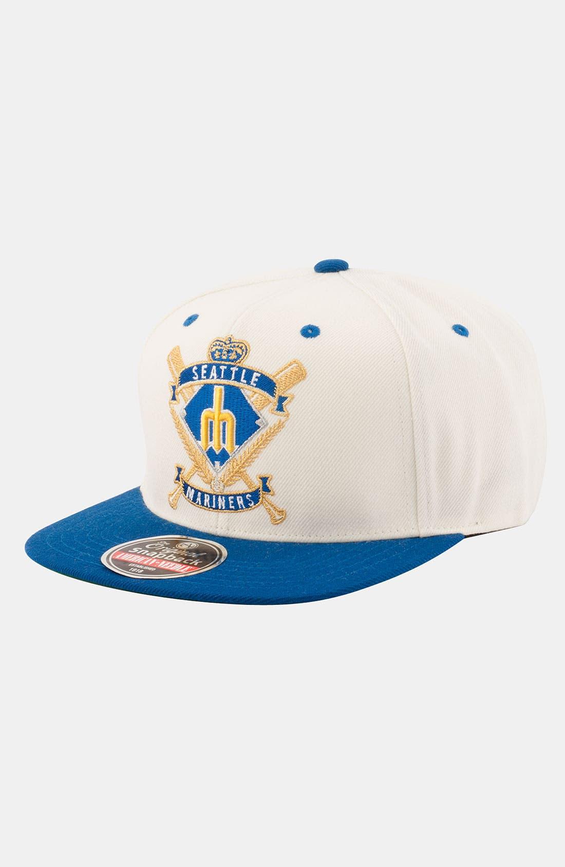 Main Image - American Needle 'Seattle Mariners - Spirit Crest' Snapback Baseball Cap