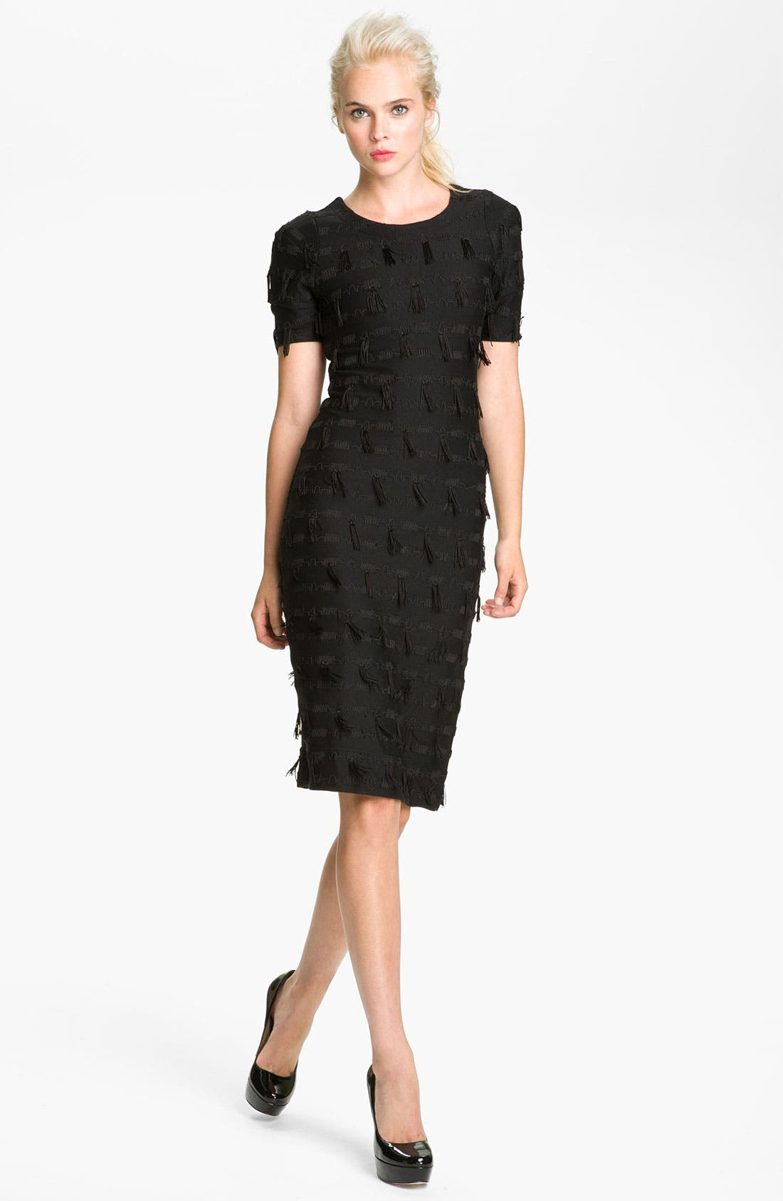 Alternate Image 1 Selected - MARC BY MARC JACOBS 'Frankie' Fringe Dress