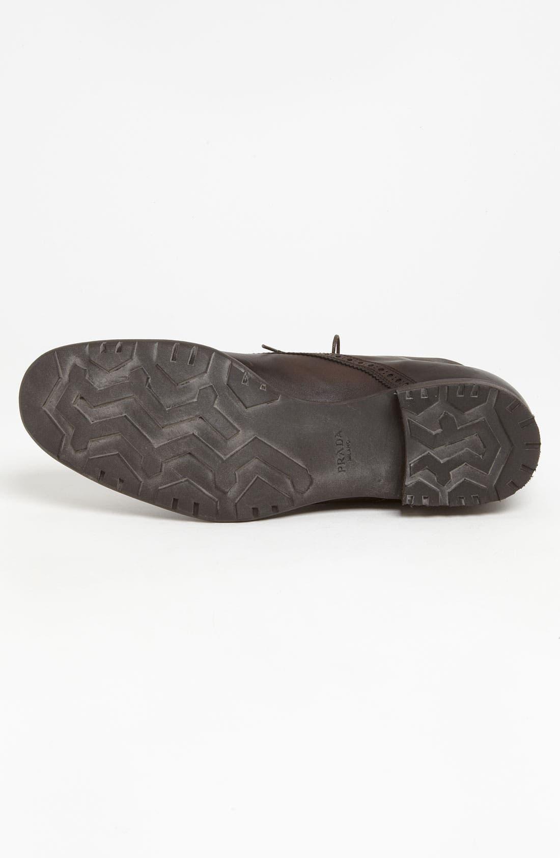 Alternate Image 4  - Prada Cap Toe Boot