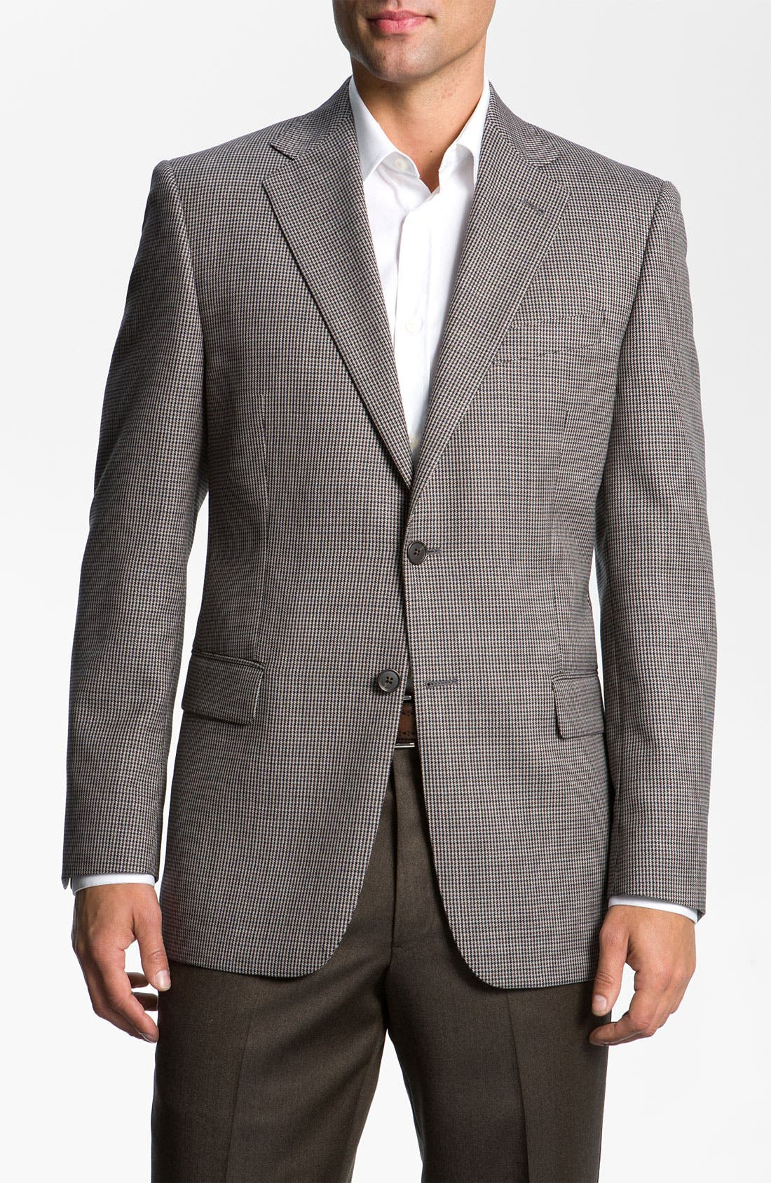 Alternate Image 1 Selected - Joseph Abboud Houndstooth Sportcoat