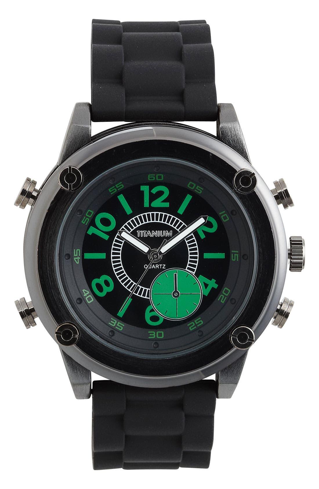 Main Image - Titanium 'Pop Coil' Watch, 50mm
