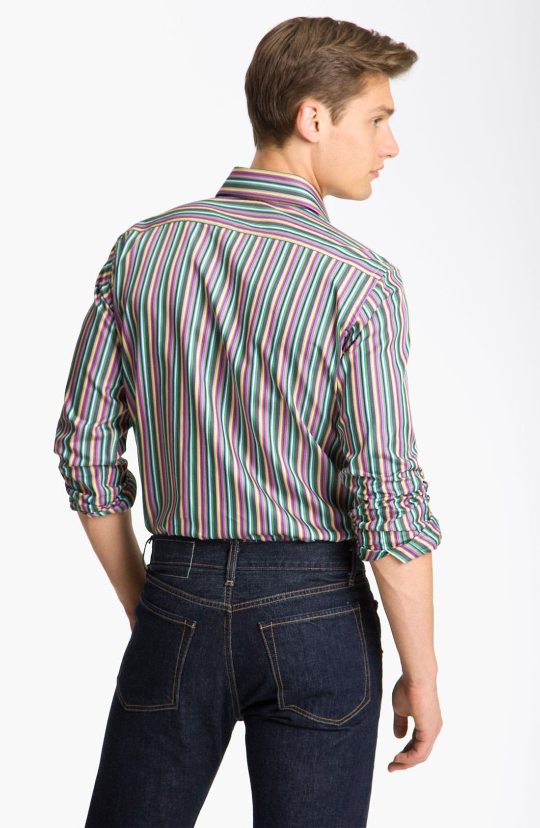 Alternate Image 3  - Etro Stripe Shirt