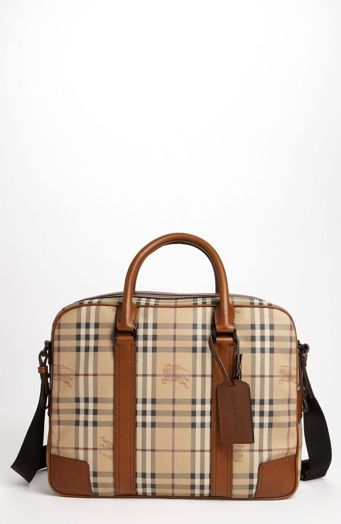 Main Image - Burberry 'Haymarket Check' Briefcase