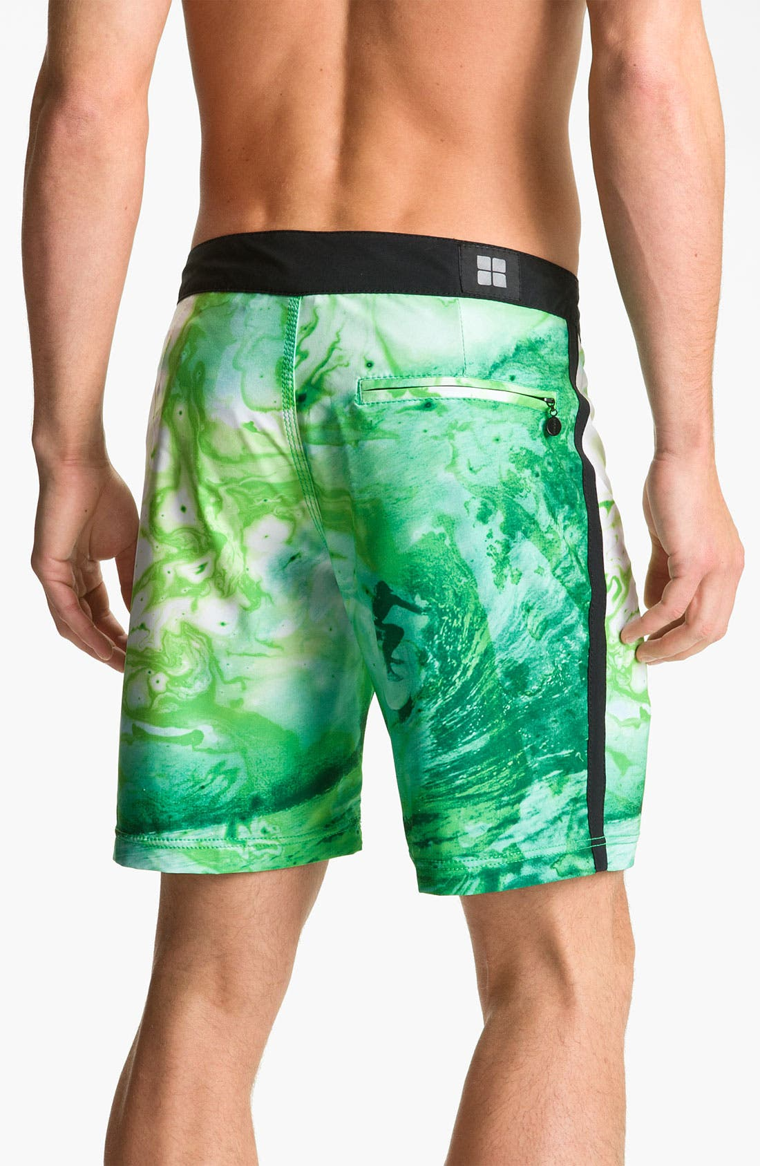 Alternate Image 2  - Insight 'Green Room' Board Shorts