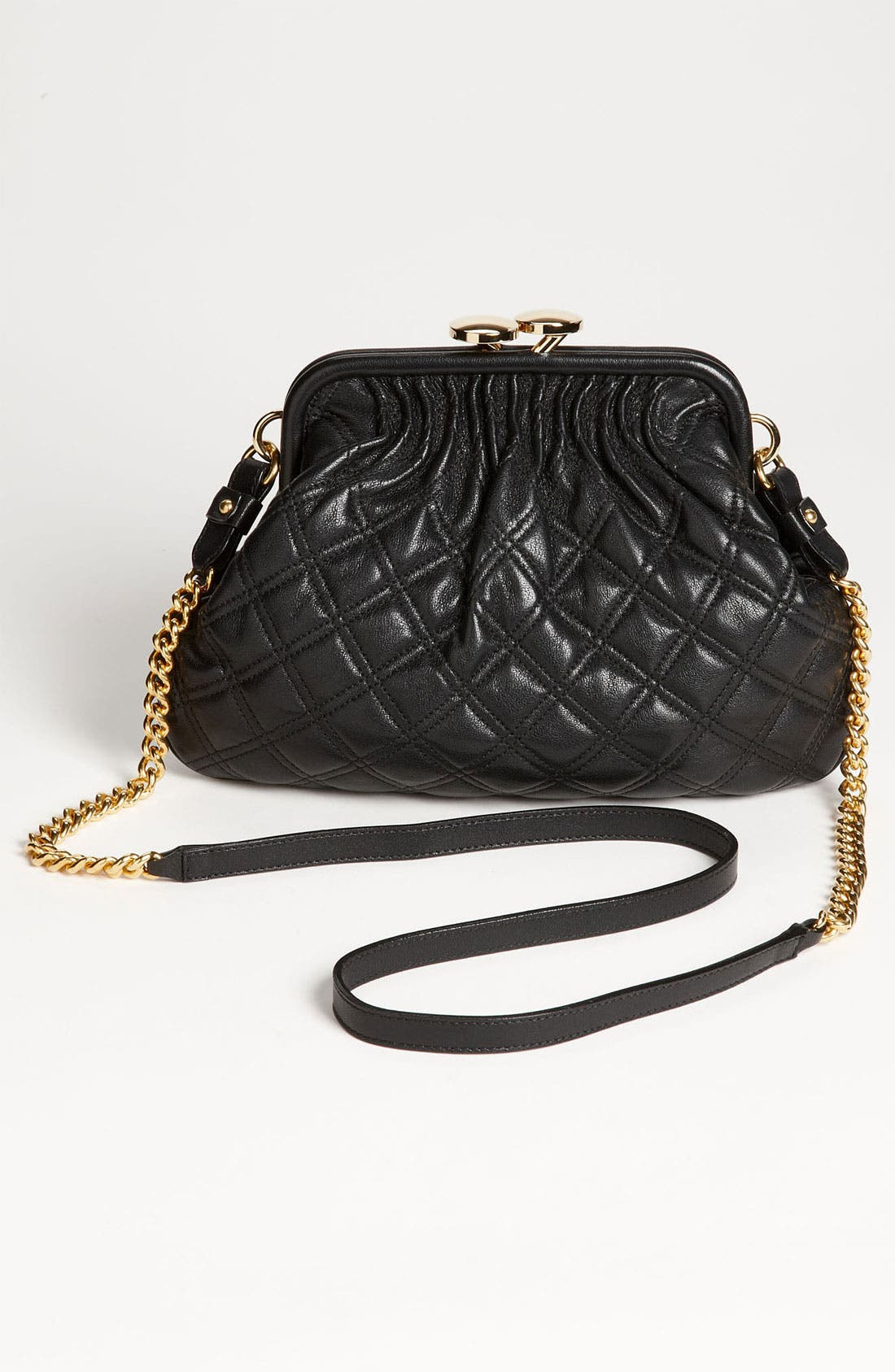 Alternate Image 4  - MARC JACOBS 'Little Stam' Leather Crossbody Bag