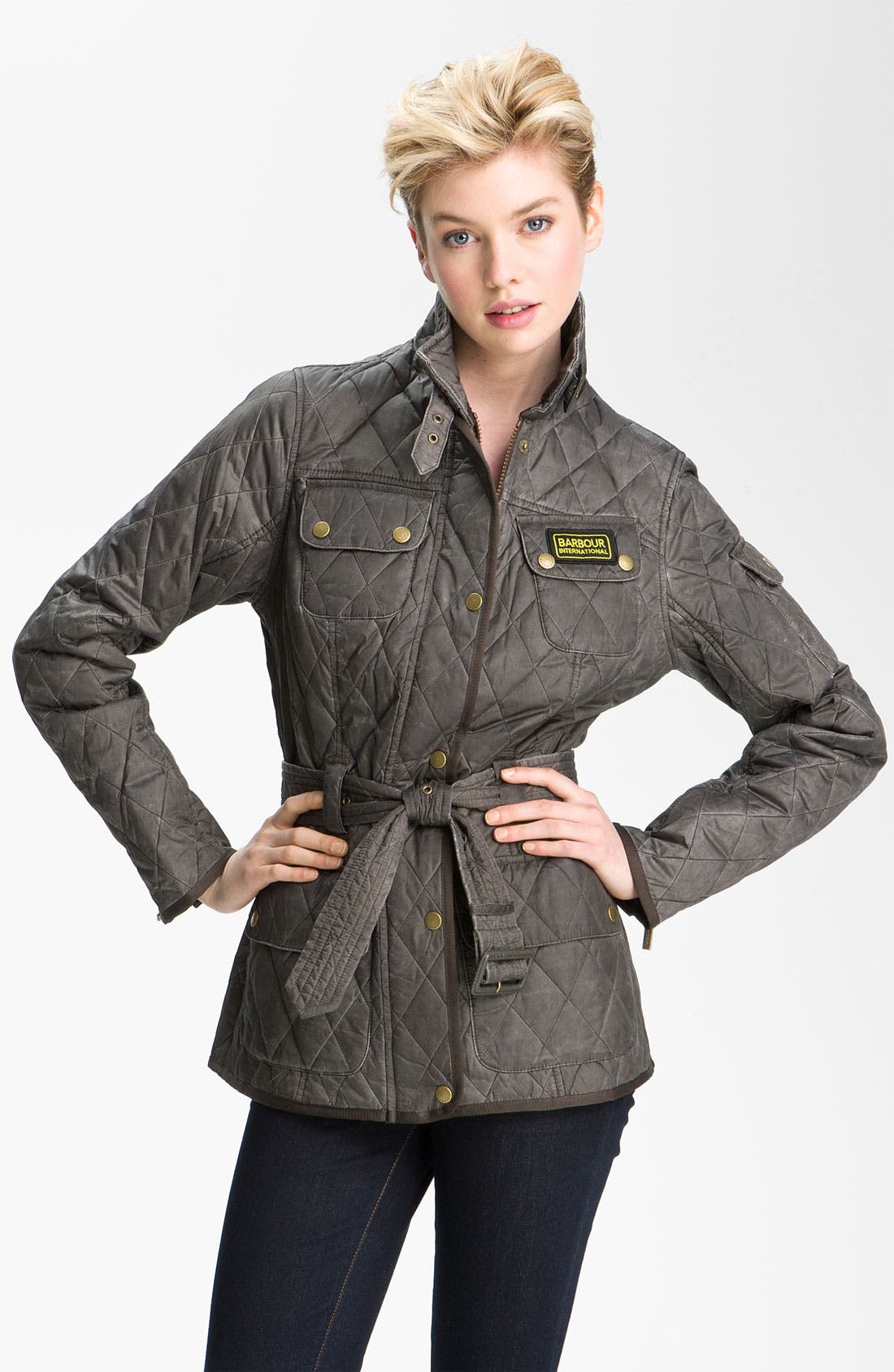 Alternate Image 1 Selected - Barbour 'Heritage International' Quilted Jacket (Online Exclusive)
