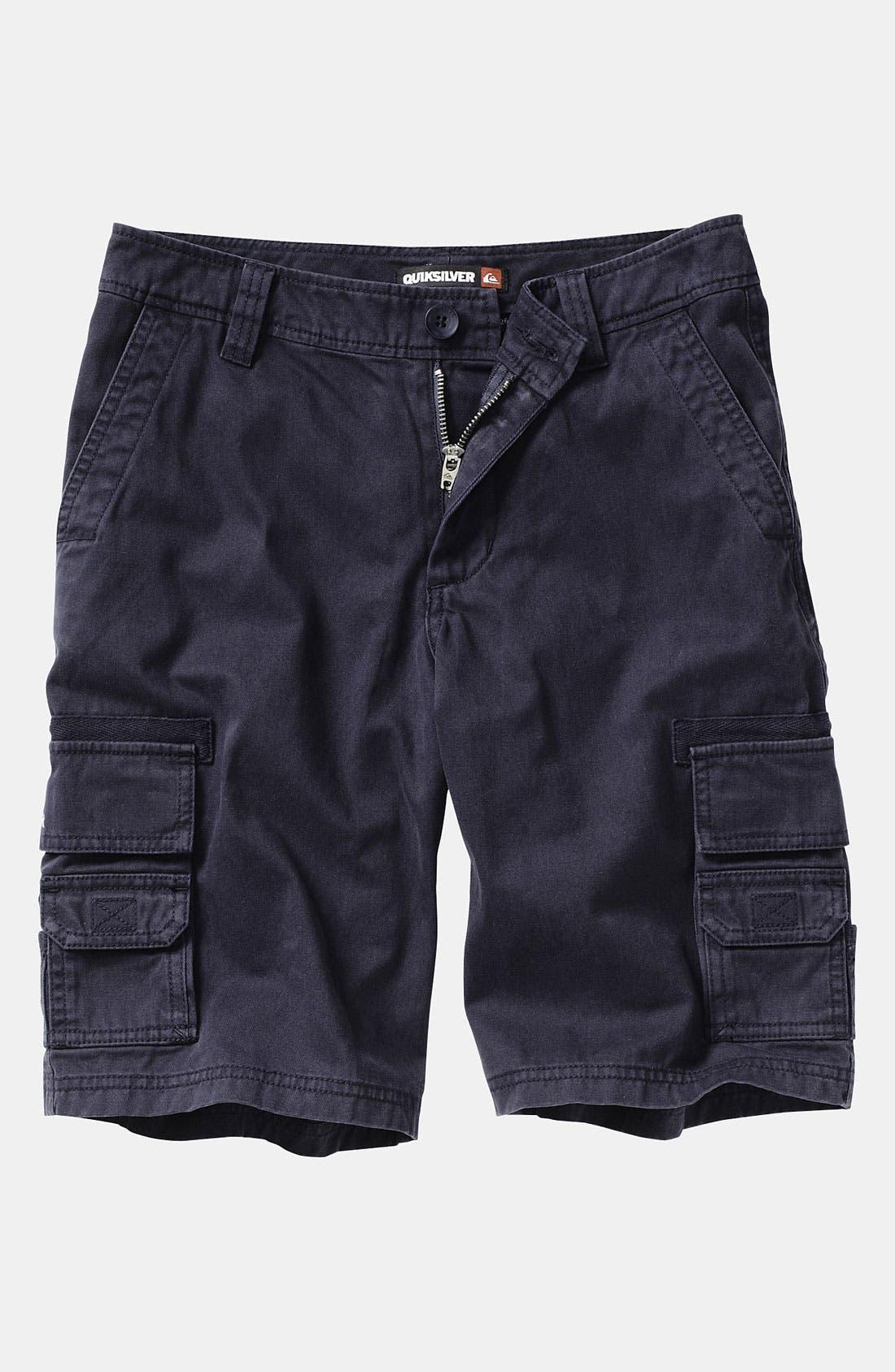 Alternate Image 1 Selected - Quiksilver 'Escargot' Cargo Shorts (Infant)