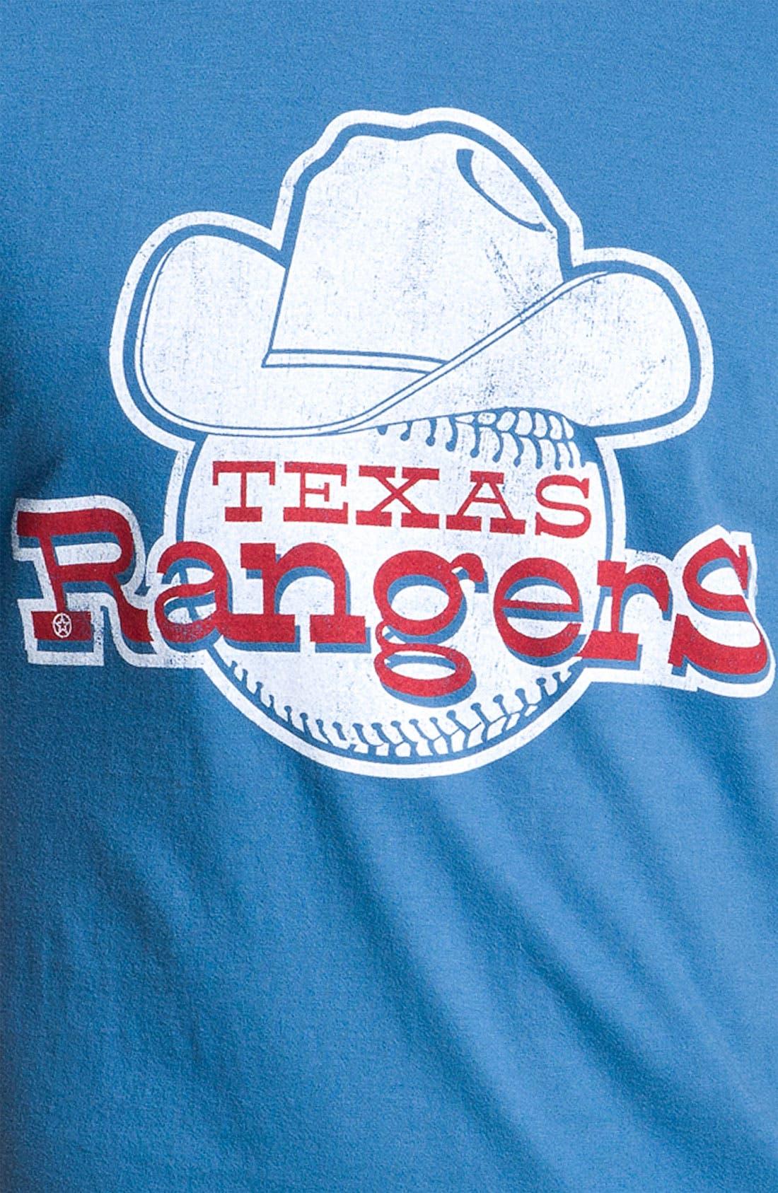 Alternate Image 3  - Wright & Ditson 'Texas Rangers' Baseball T-Shirt