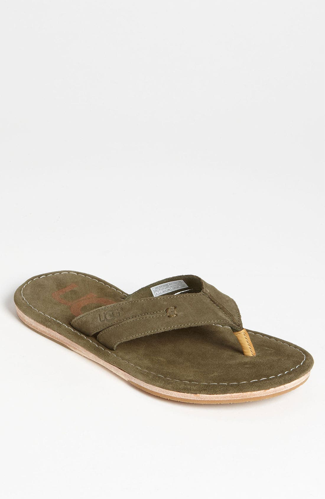 Alternate Image 1 Selected - UGG® Australia 'Donato' Flip Flop (Men)