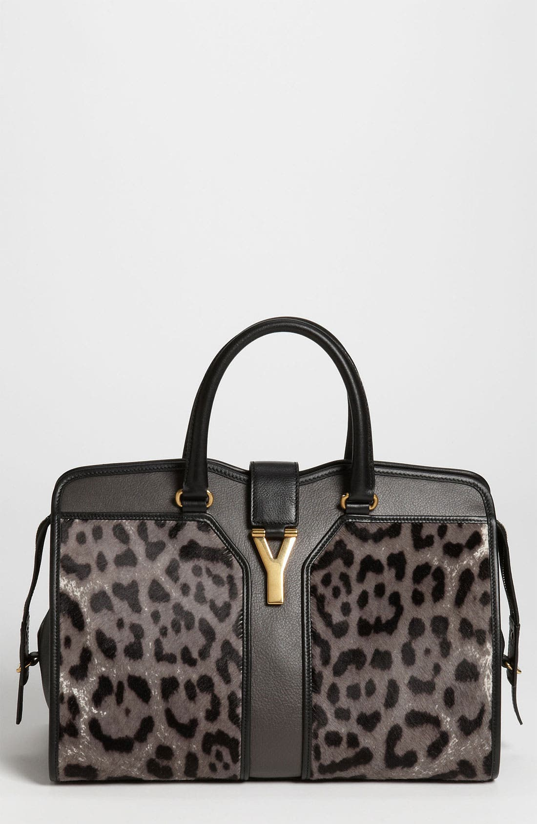 Alternate Image 1 Selected - Yves Saint Laurent 'Cabas Chyc - Medium' Calf Hair Satchel