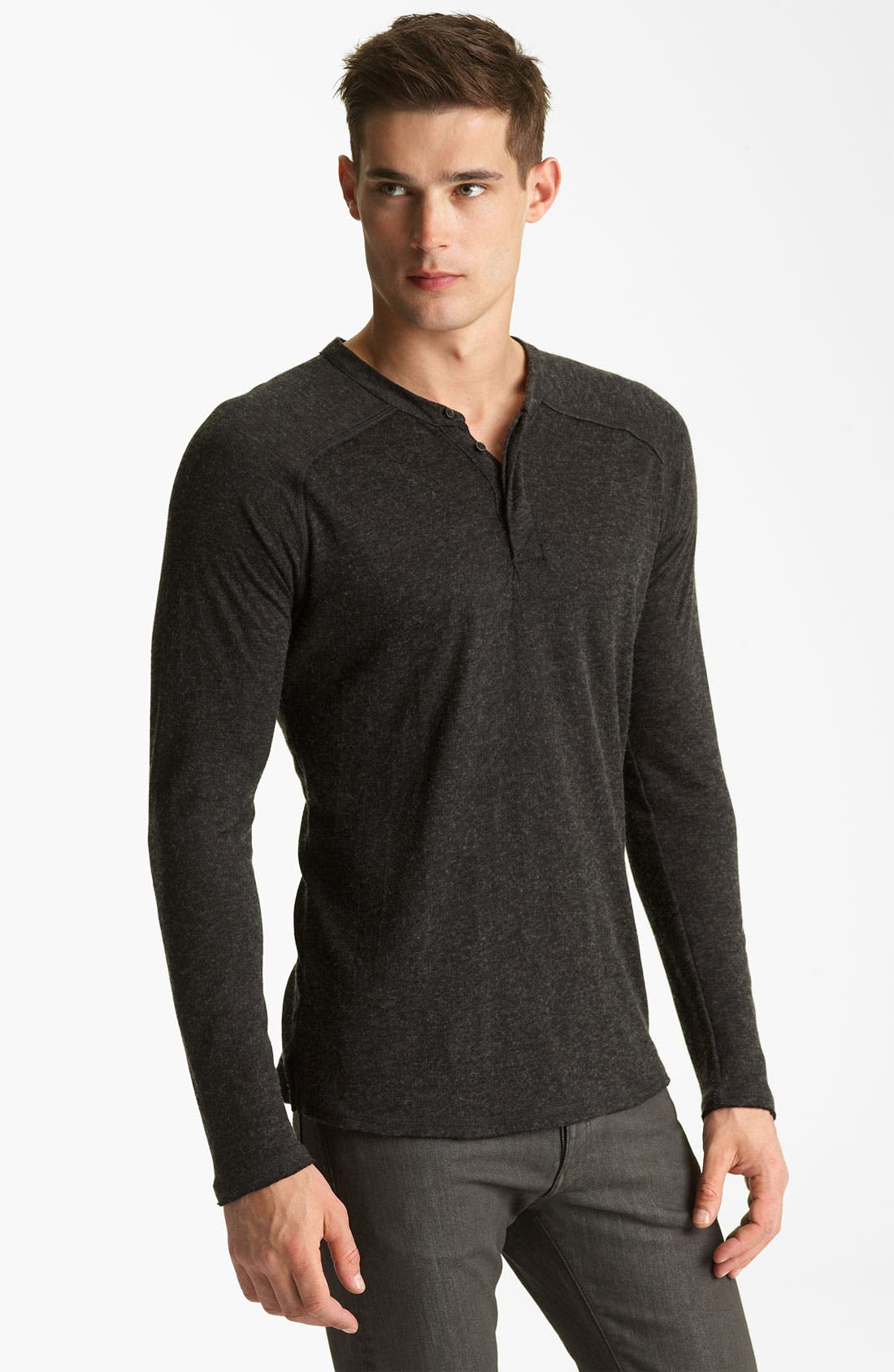 Alternate Image 1 Selected - Rogan Raglan Knit Henley