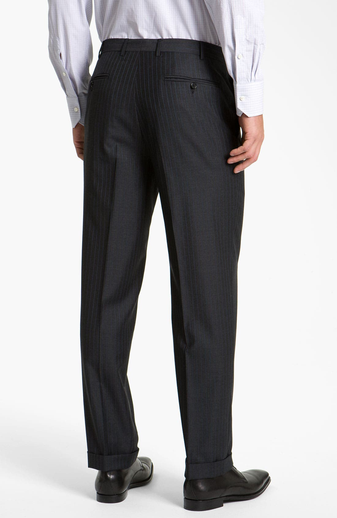 Alternate Image 5  - Canali Stripe Suit