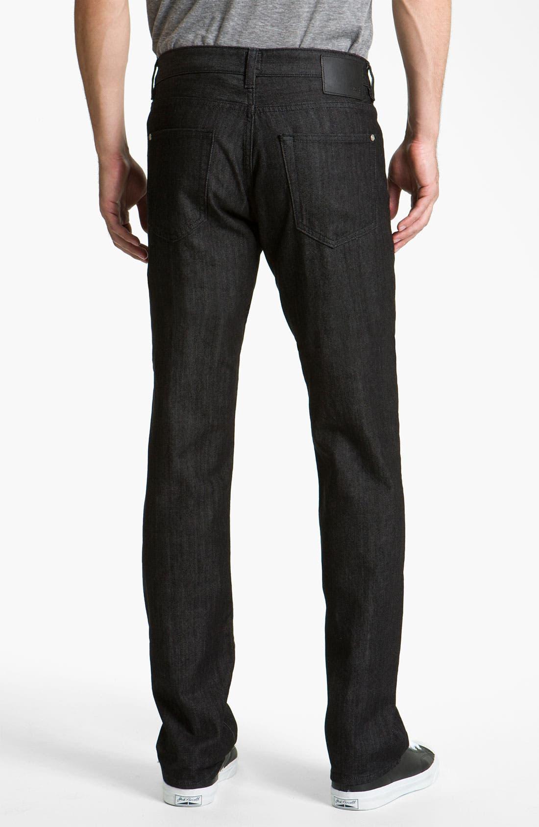 Alternate Image 2  - BOSS Black 'Kansas' Straight Leg Jeans