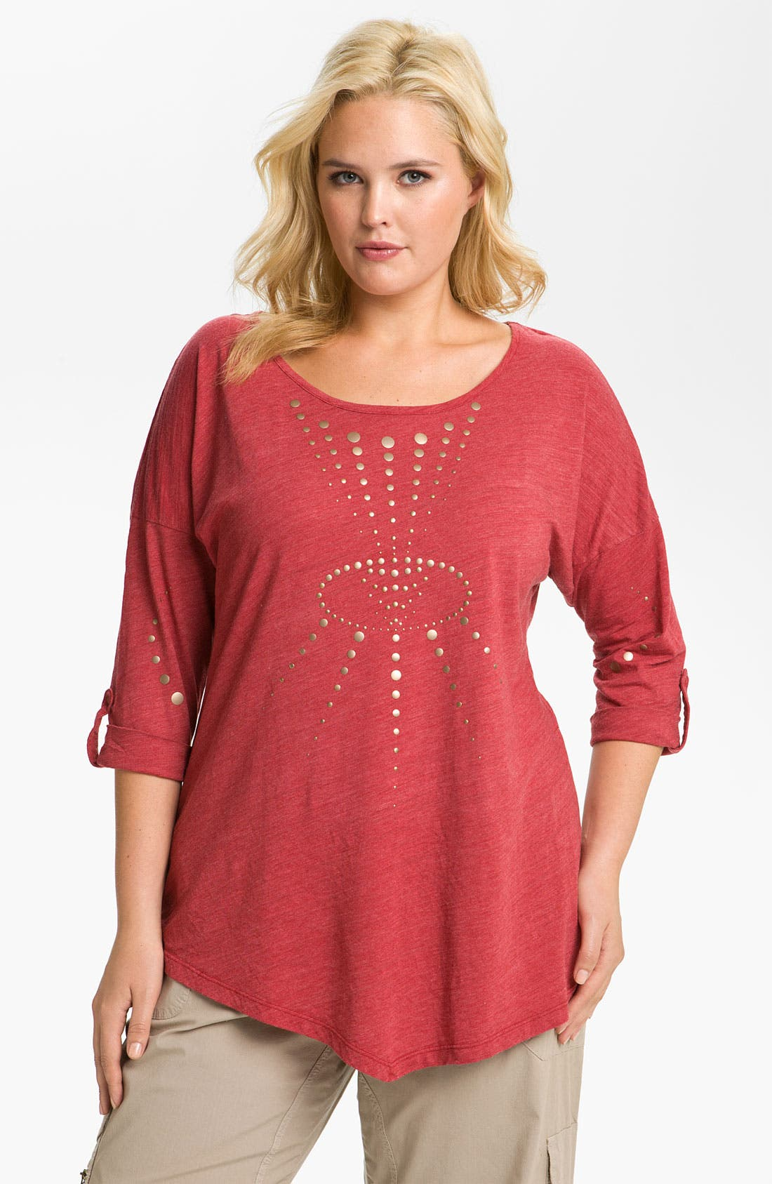 Alternate Image 1 Selected - XCVI Wearables 'O'Brien' Embellished Tunic (Plus)