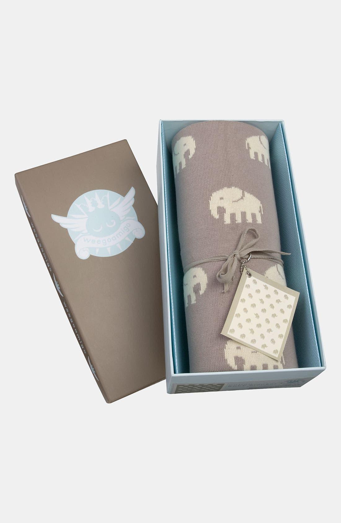 Alternate Image 1 Selected - weegoamigo 'Taupe Stampede' Blanket