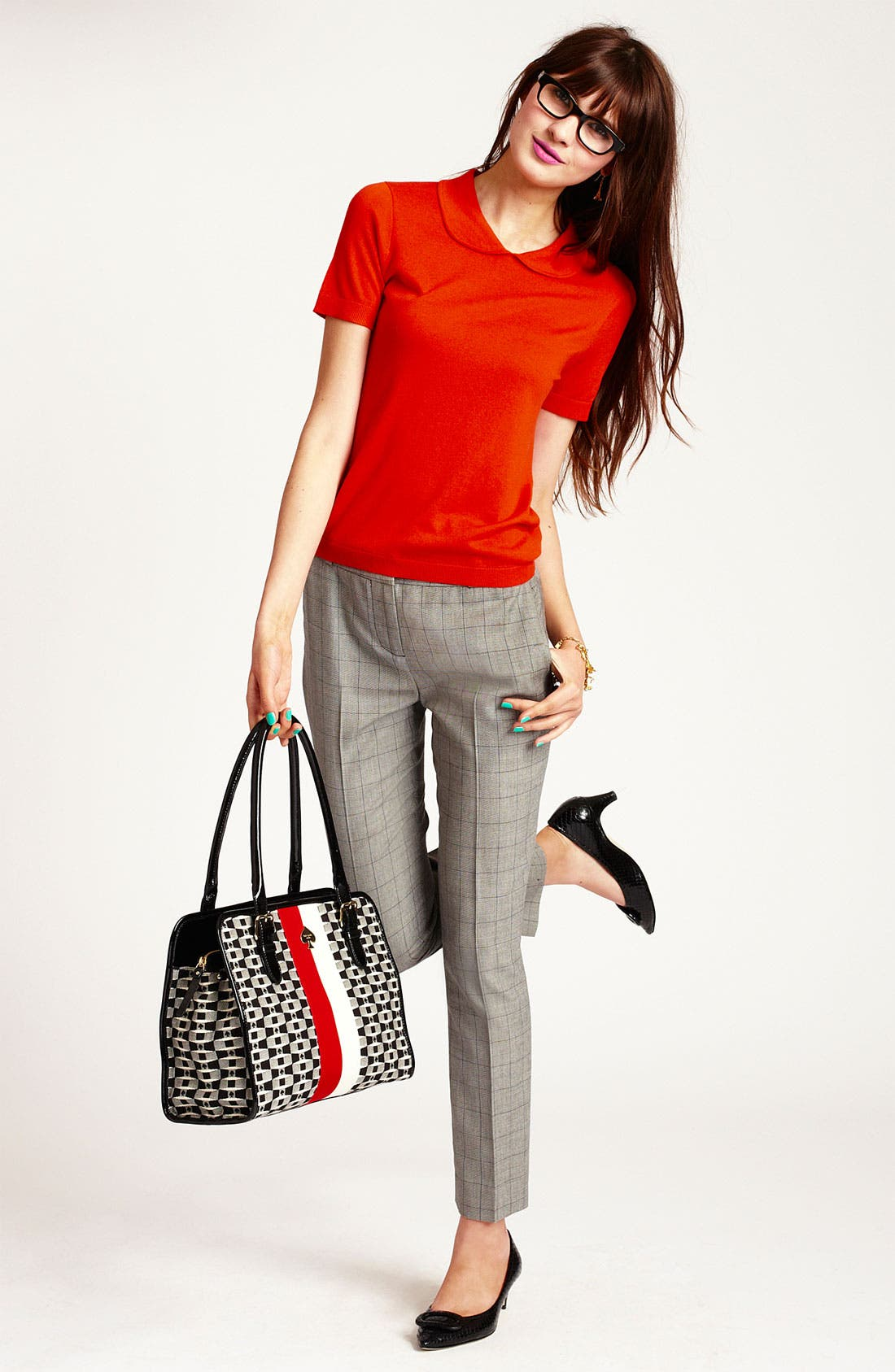 Alternate Image 1 Selected - kate spade new york sweater & pants