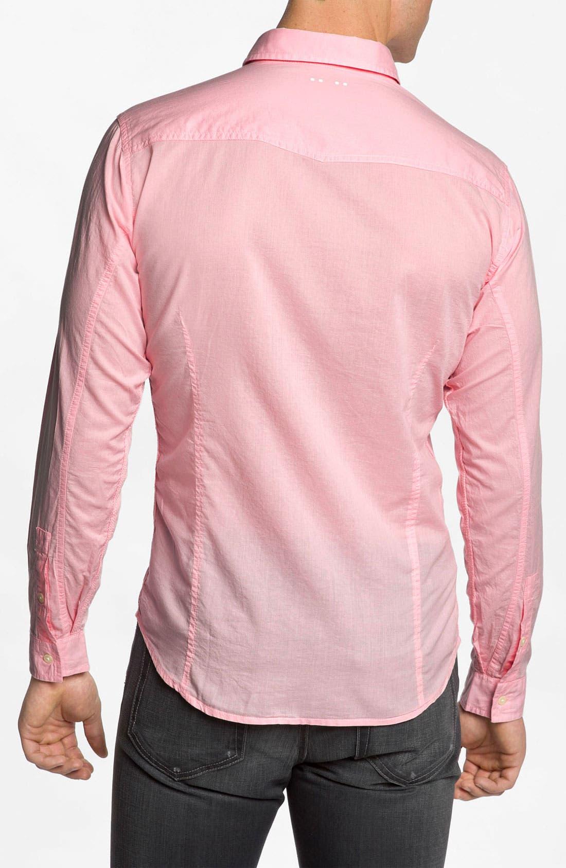 Alternate Image 2  - J.C. Rags Woven Shirt