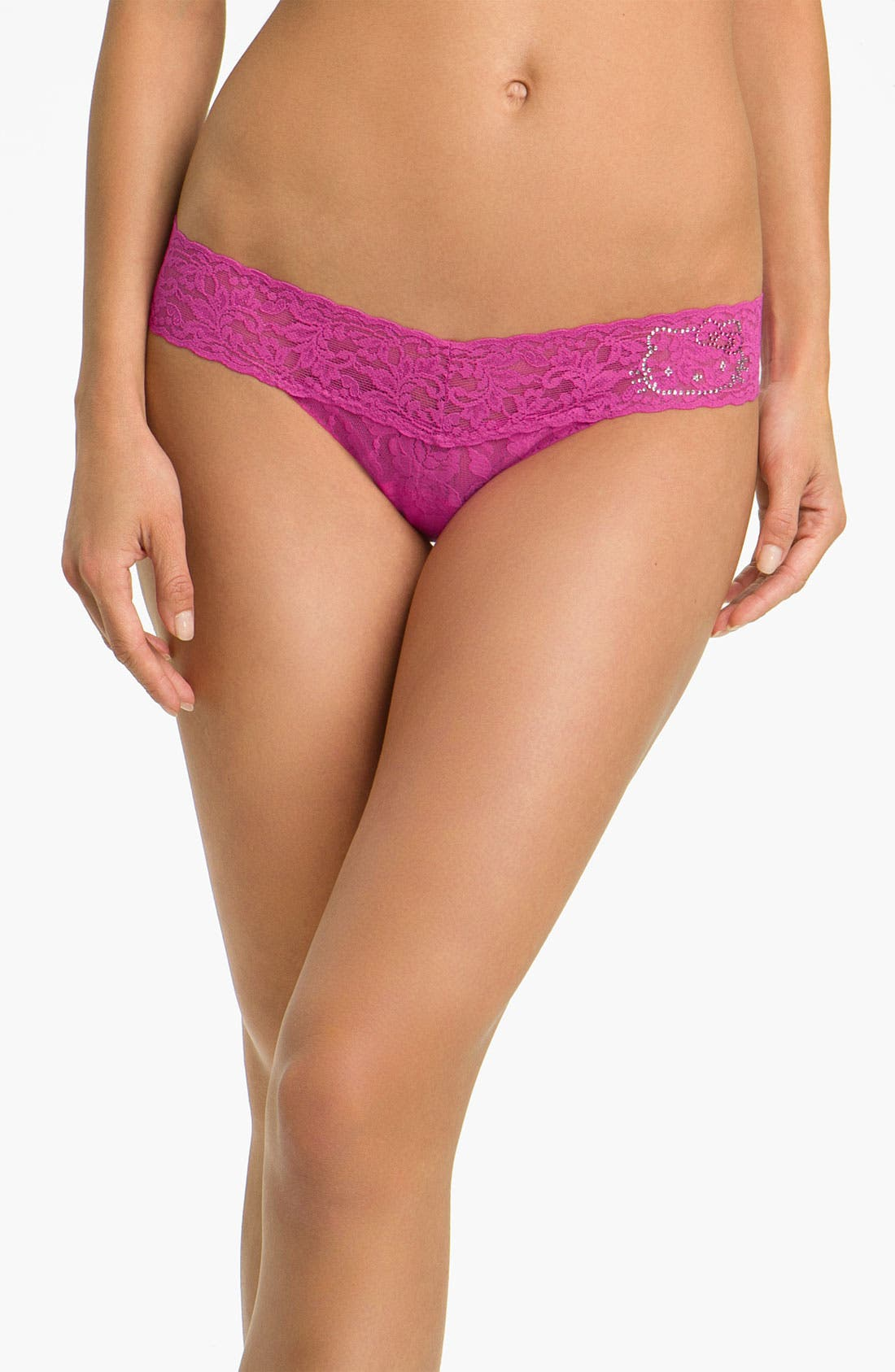Alternate Image 1 Selected - Hanky Panky 'Hello Kitty®' Low Rise Lace Thong