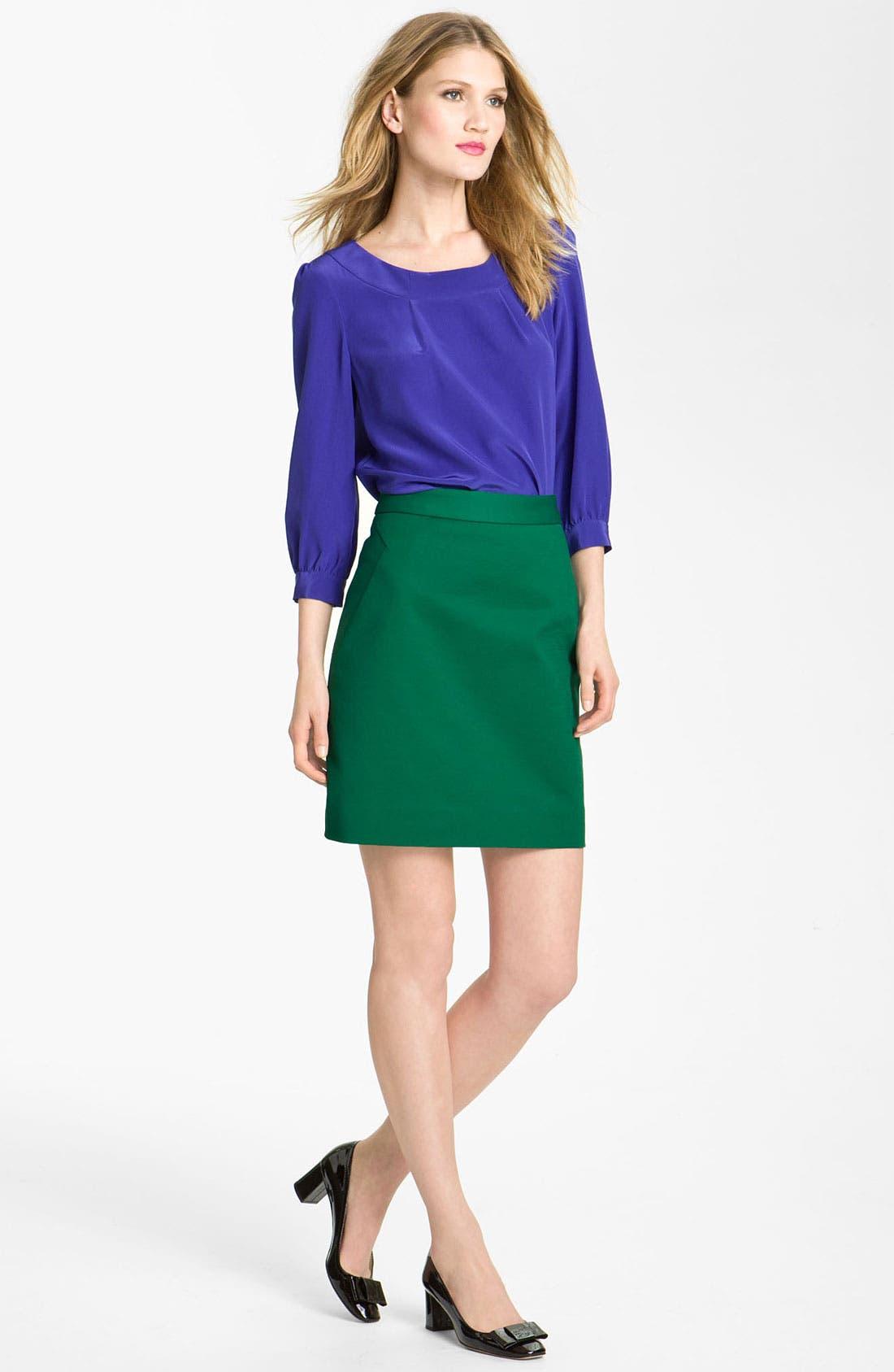 Alternate Image 3  - kate spade new york 'valentine' skirt