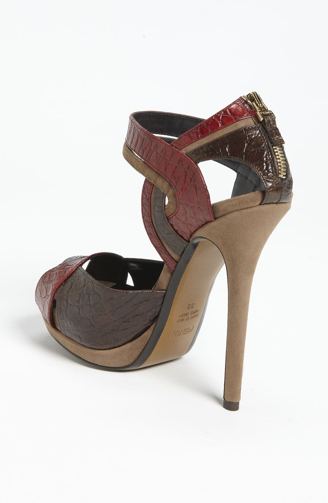 Alternate Image 2  - Fendi 'Let Me In' Ankle Strap Sandal