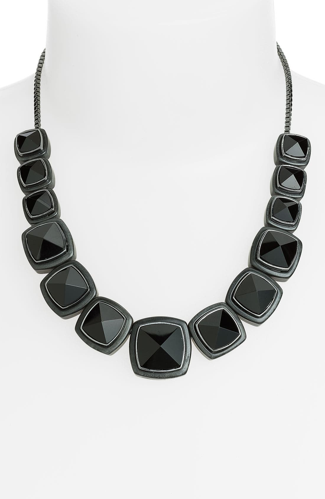 Alternate Image 1 Selected - MARC BY MARC JACOBS 'Ice Cubes' Stud Statement Necklace