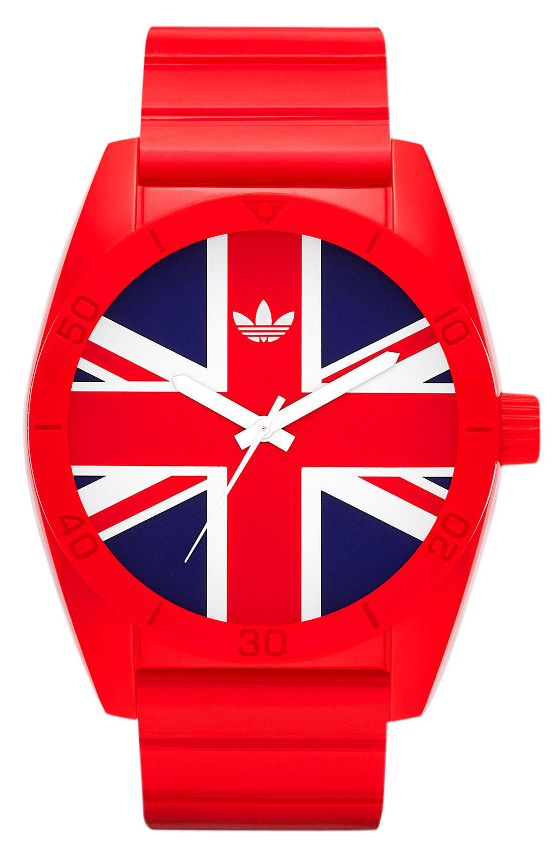 Main Image - adidas Originals 'Santiago - Exclusive Union Jack' Watch