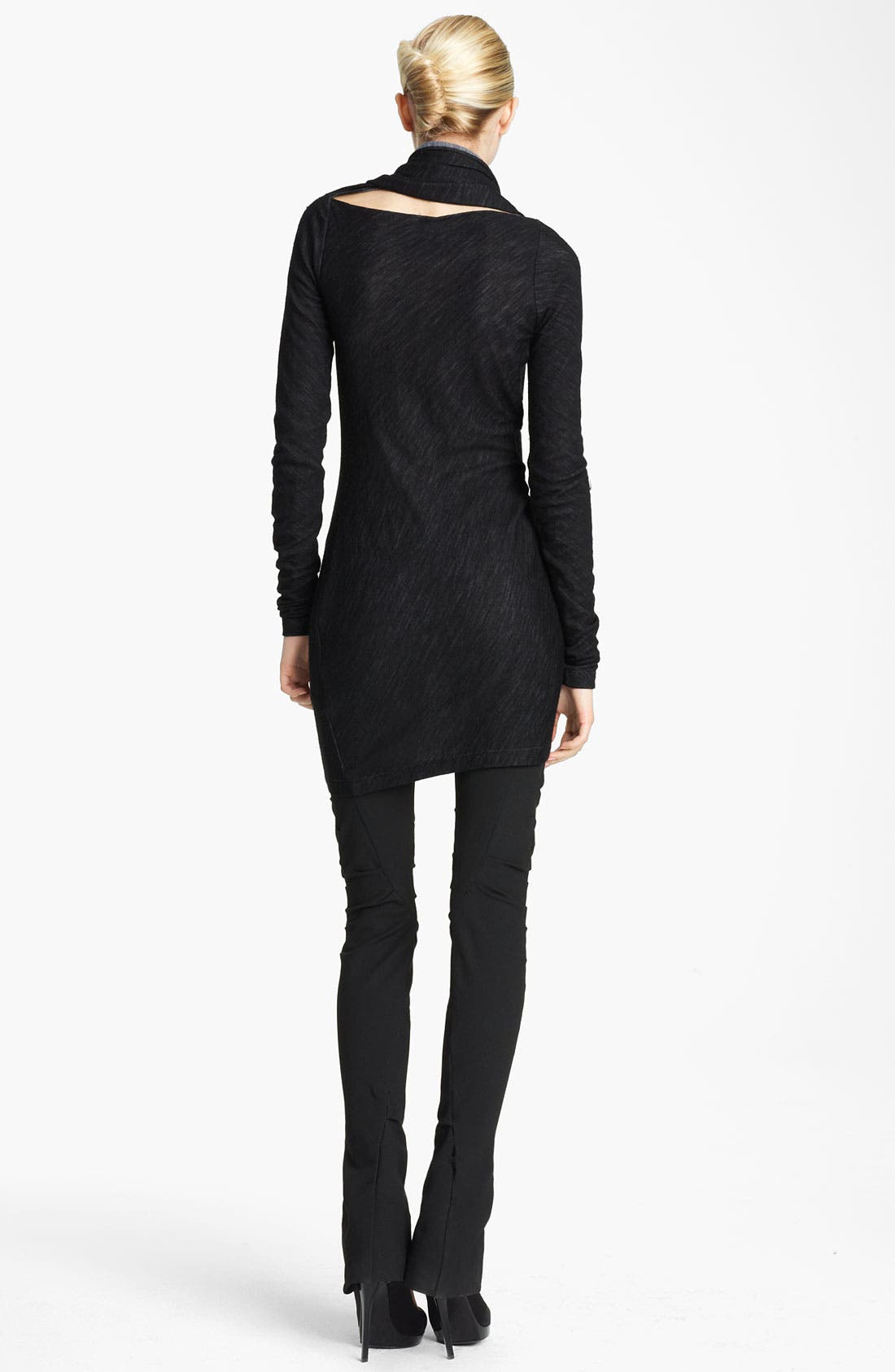 Alternate Image 2  - Donna Karan Collection Scarf Neck Tunic Dress
