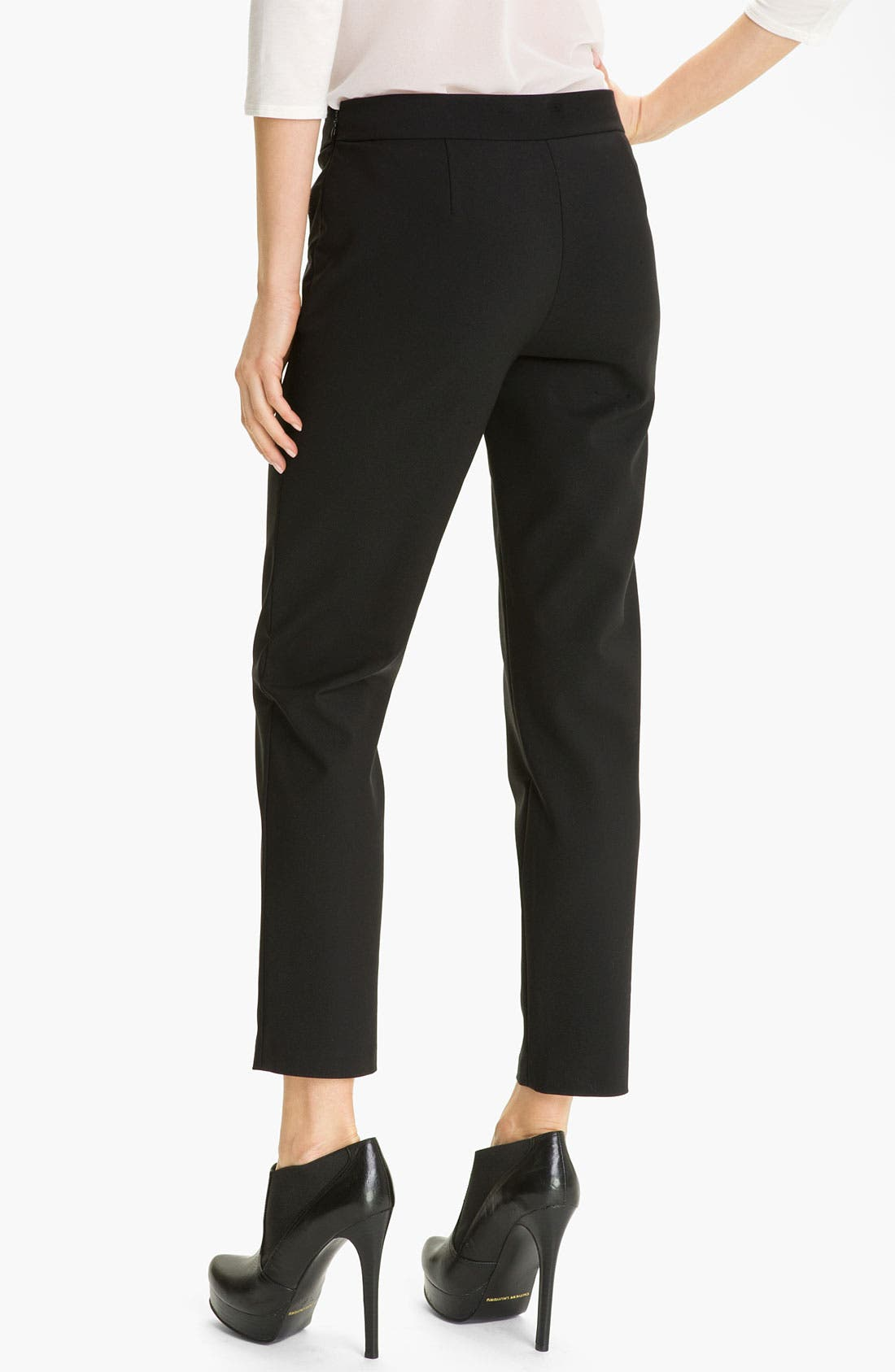 Alternate Image 2  - Kenneth Cole New York 'Chloe' Cigarette Pants (Petite)