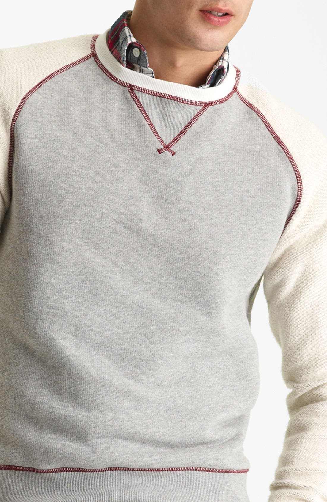 Alternate Image 3  - Gant by Michael Bastian Knit Crewneck Sweatshirt