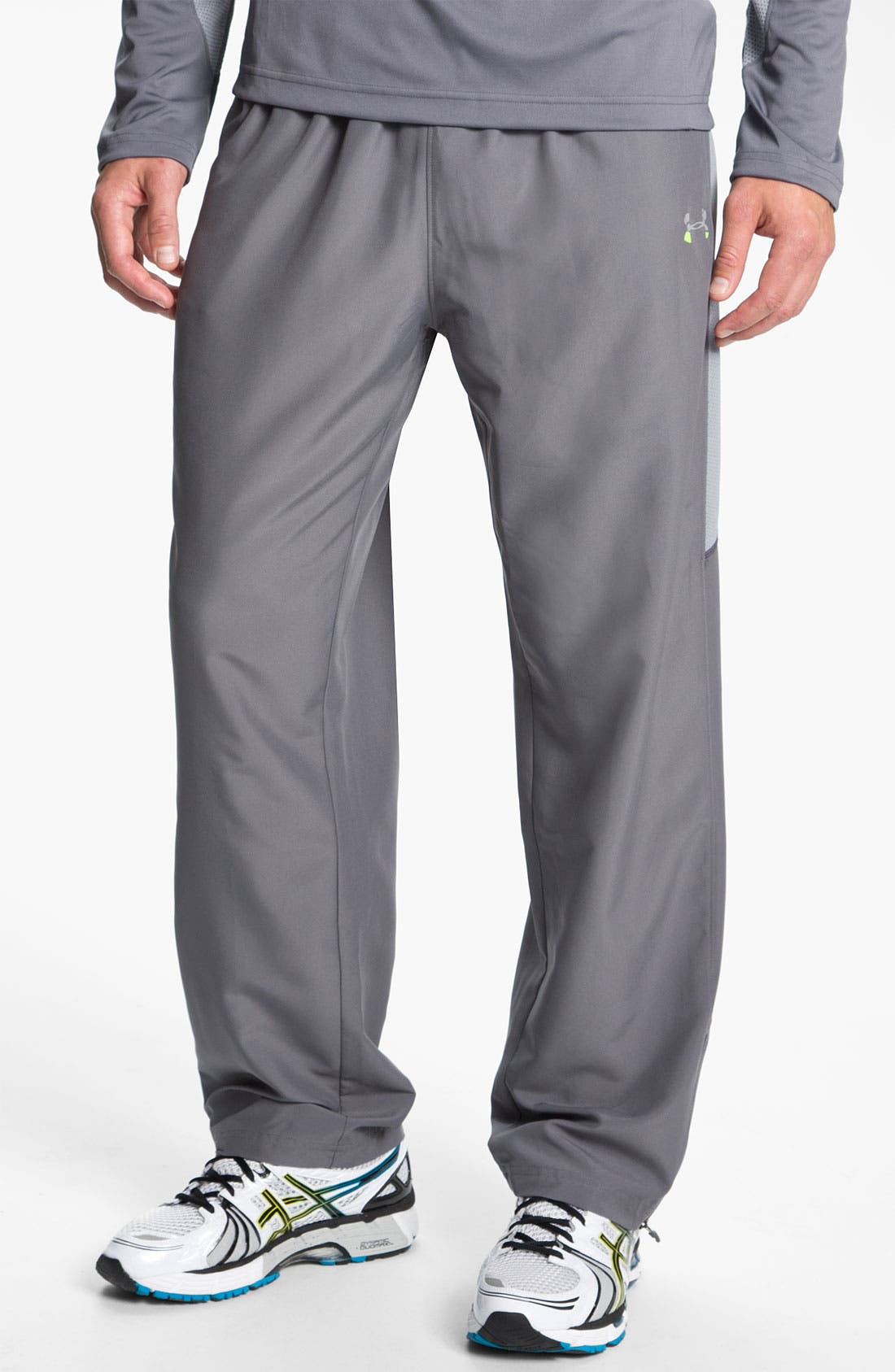Alternate Image 1 Selected - Under Armour 'Trackside' HeatGear® Woven Track Pants