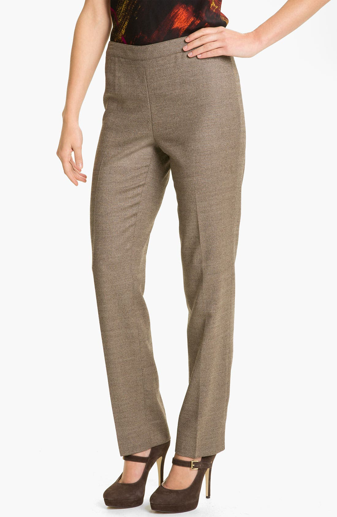 Alternate Image 1 Selected - Lafayette 148 New York 'Bleecker - Poised' Suiting Pants