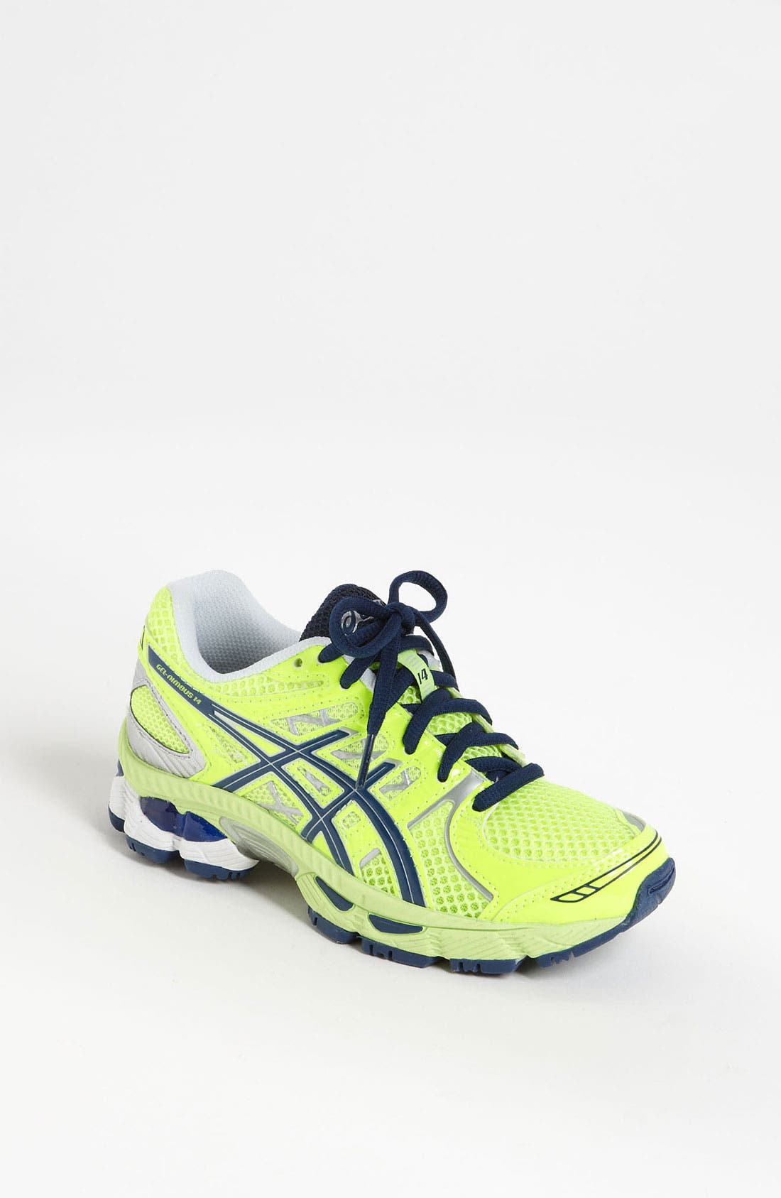 Alternate Image 1 Selected - ASICS® 'GEL®-Nimbus 14' Running Shoe (Little Kid & Big Kid)