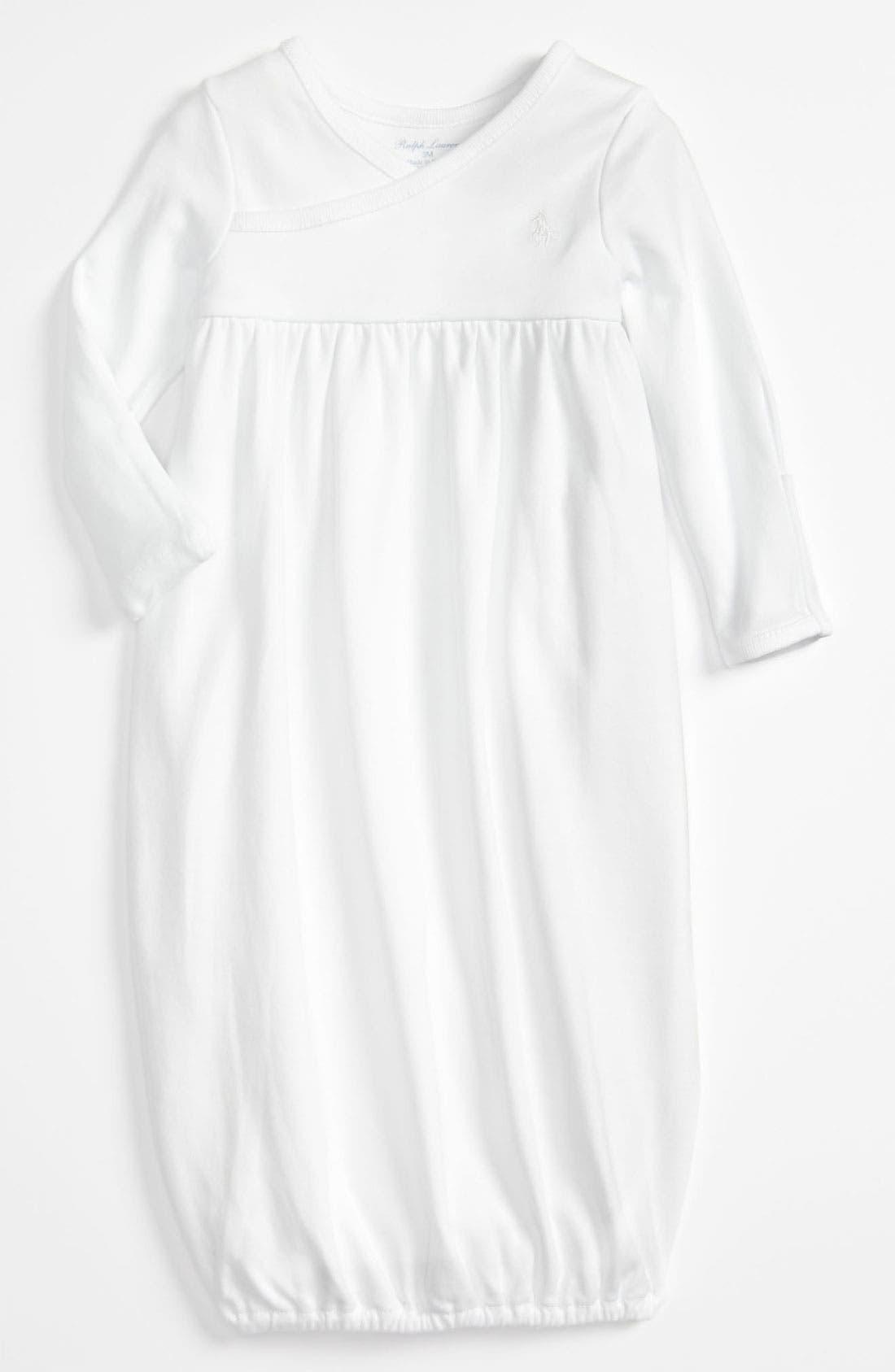 Alternate Image 1 Selected - Ralph Lauren Gown (Baby)