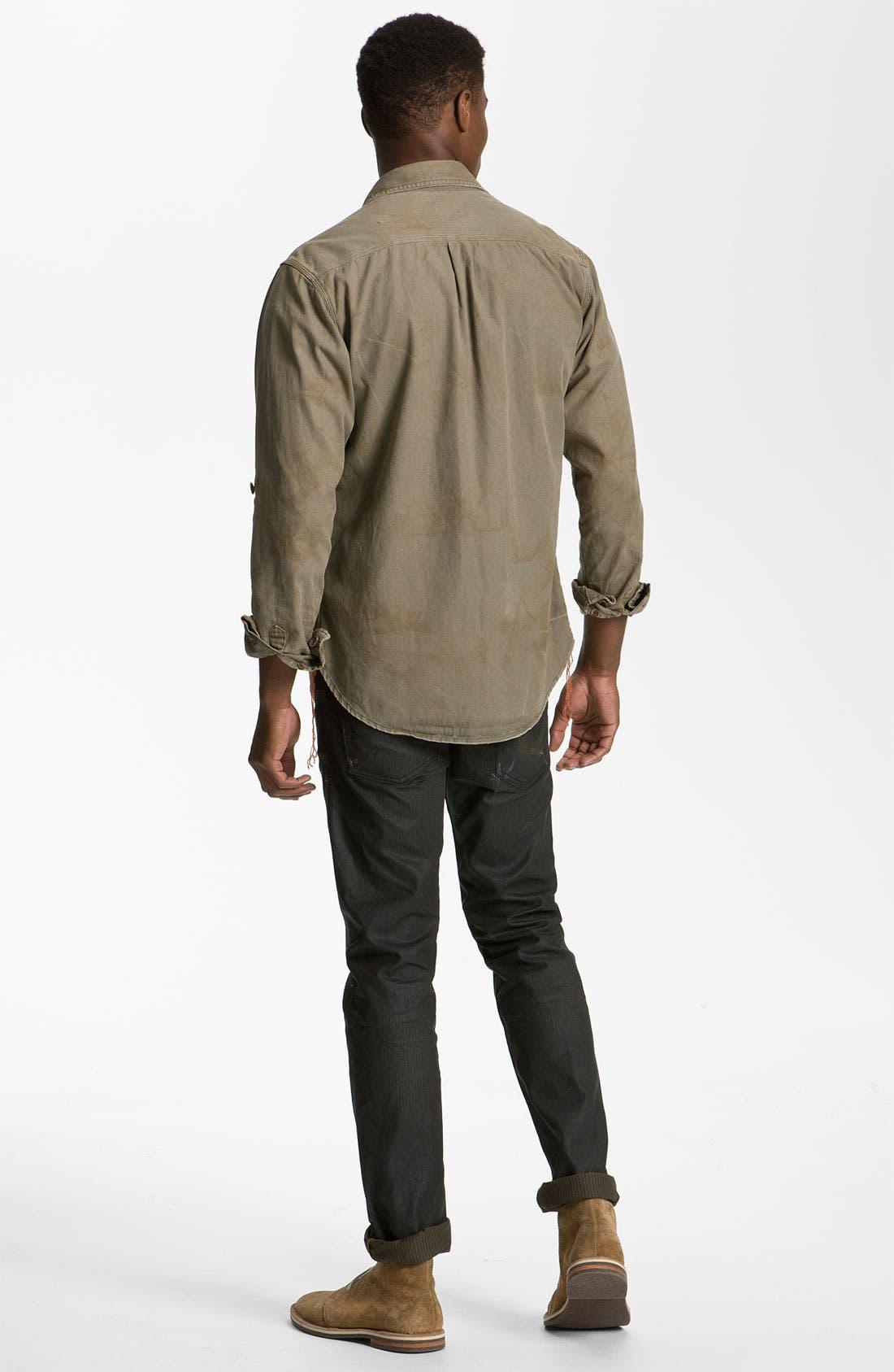 Alternate Image 5  - PRPS Woven Utility Shirt