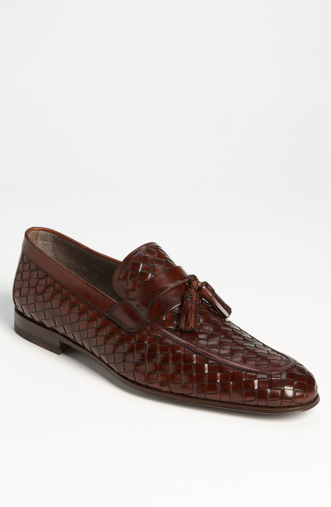Main Image - Magnanni 'Oscar' Woven Tassel Loafer (Online Only)