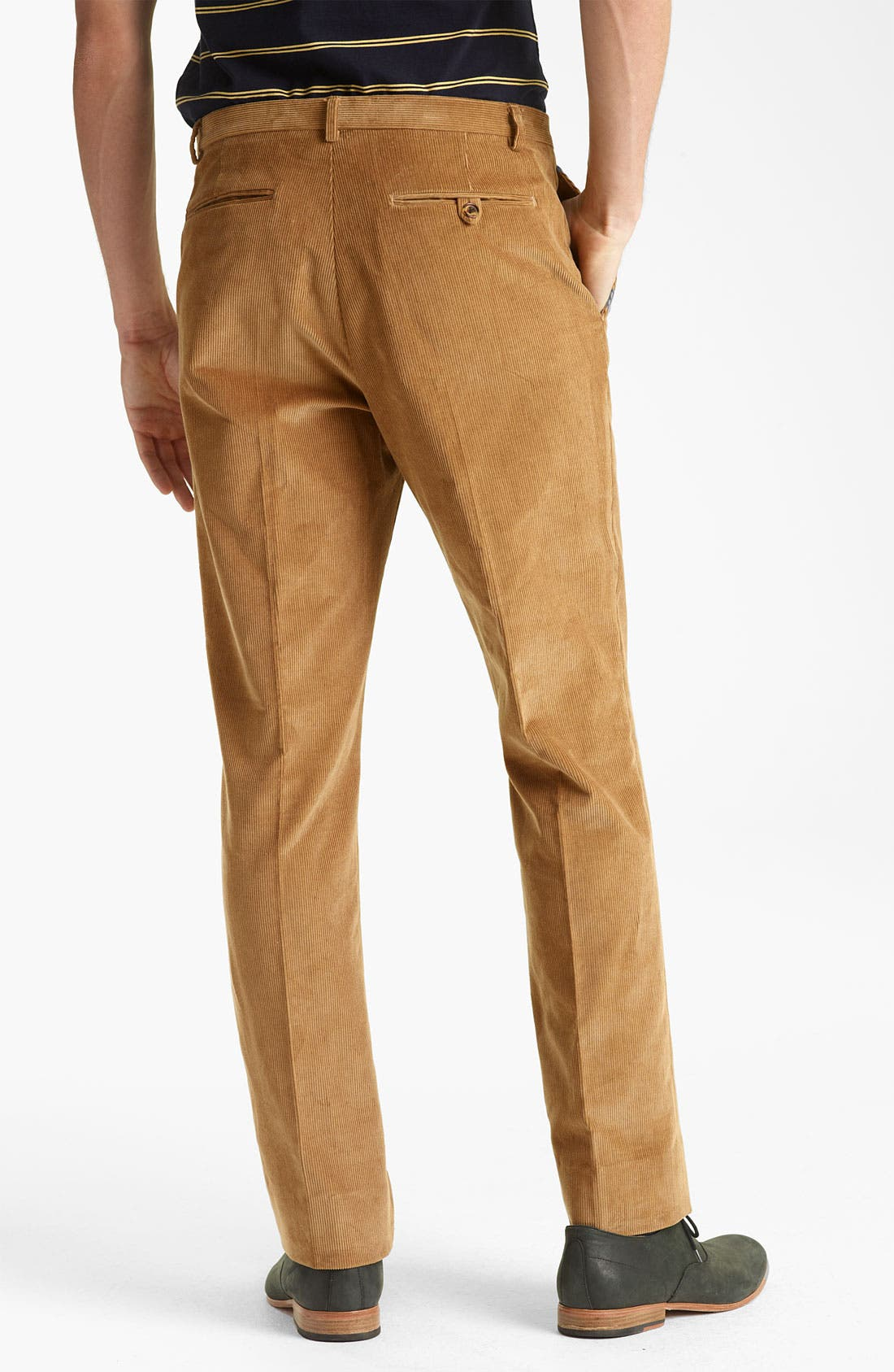 Alternate Image 2  - Shipley & Halmos 'Grand' Corduroy Suit Trousers