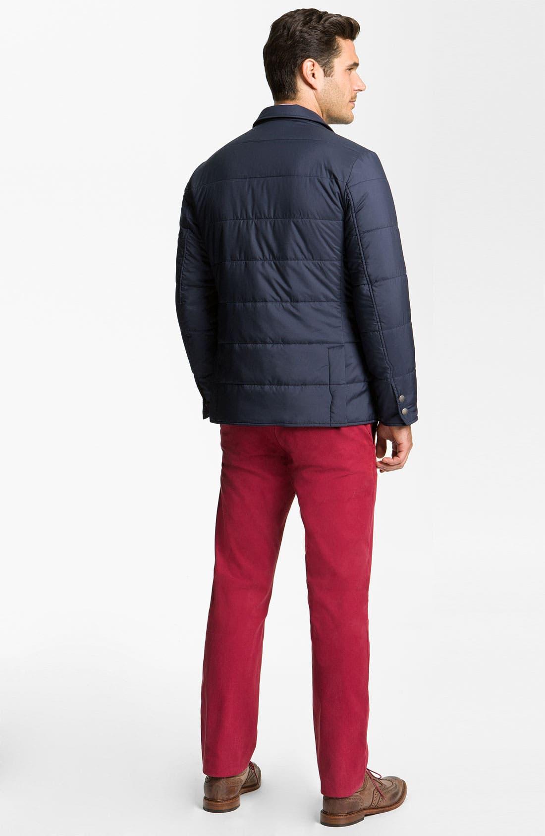 Alternate Image 5  - Brooks Brothers 'University' Quilted Blazer-Cut Jacket