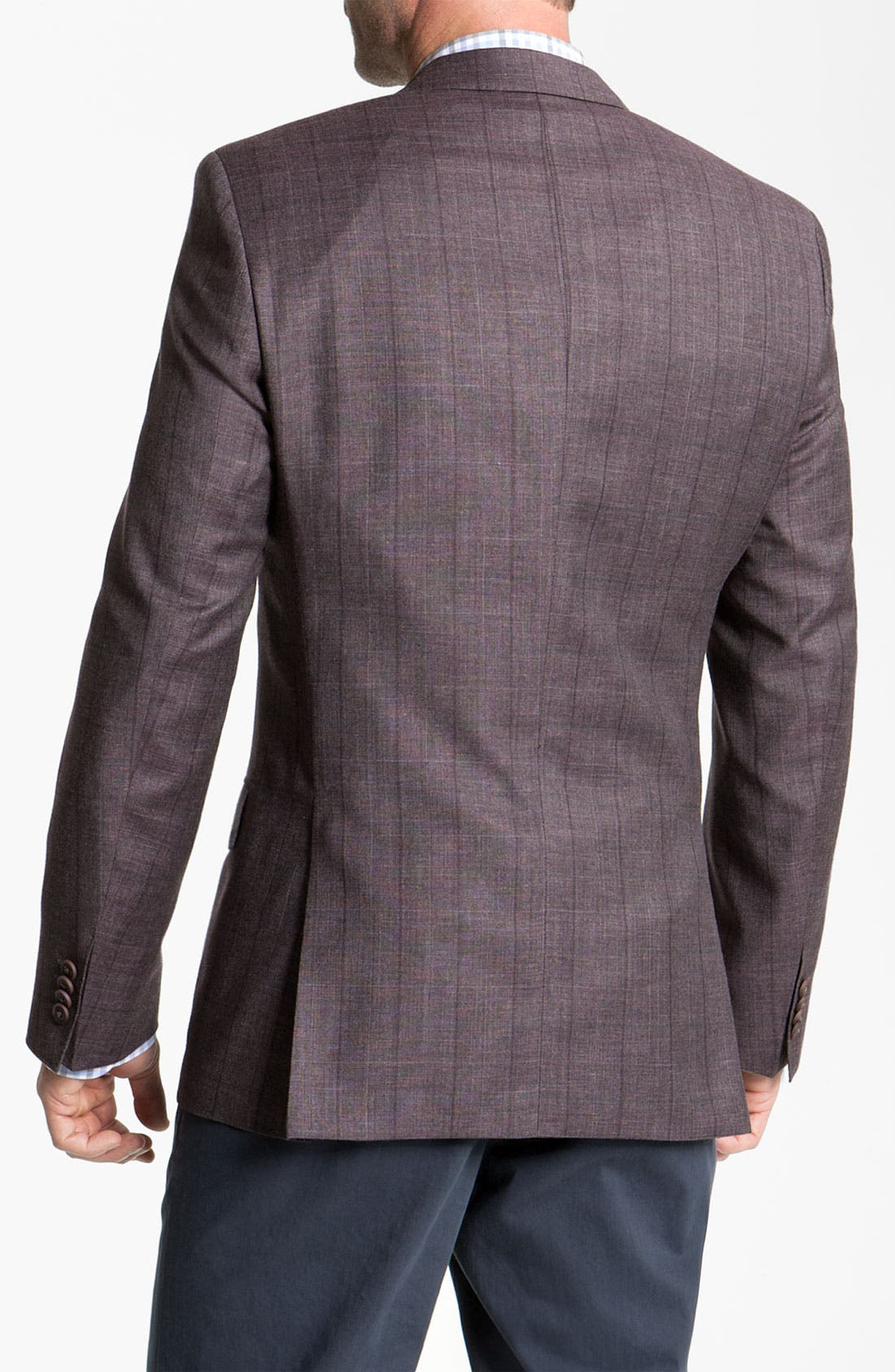 Alternate Image 2  - BOSS Black 'Hutch' Windowpane Blazer