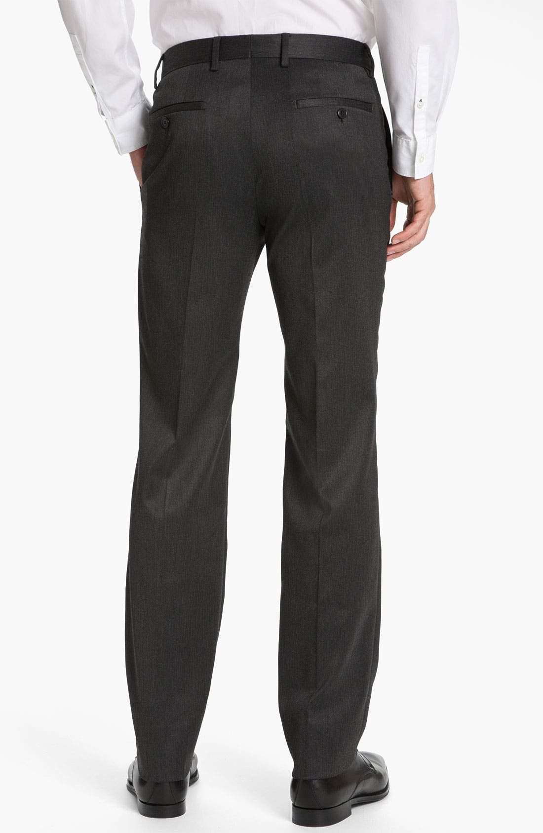 Alternate Image 2  - Versace Flat Front Trousers (Online Only)